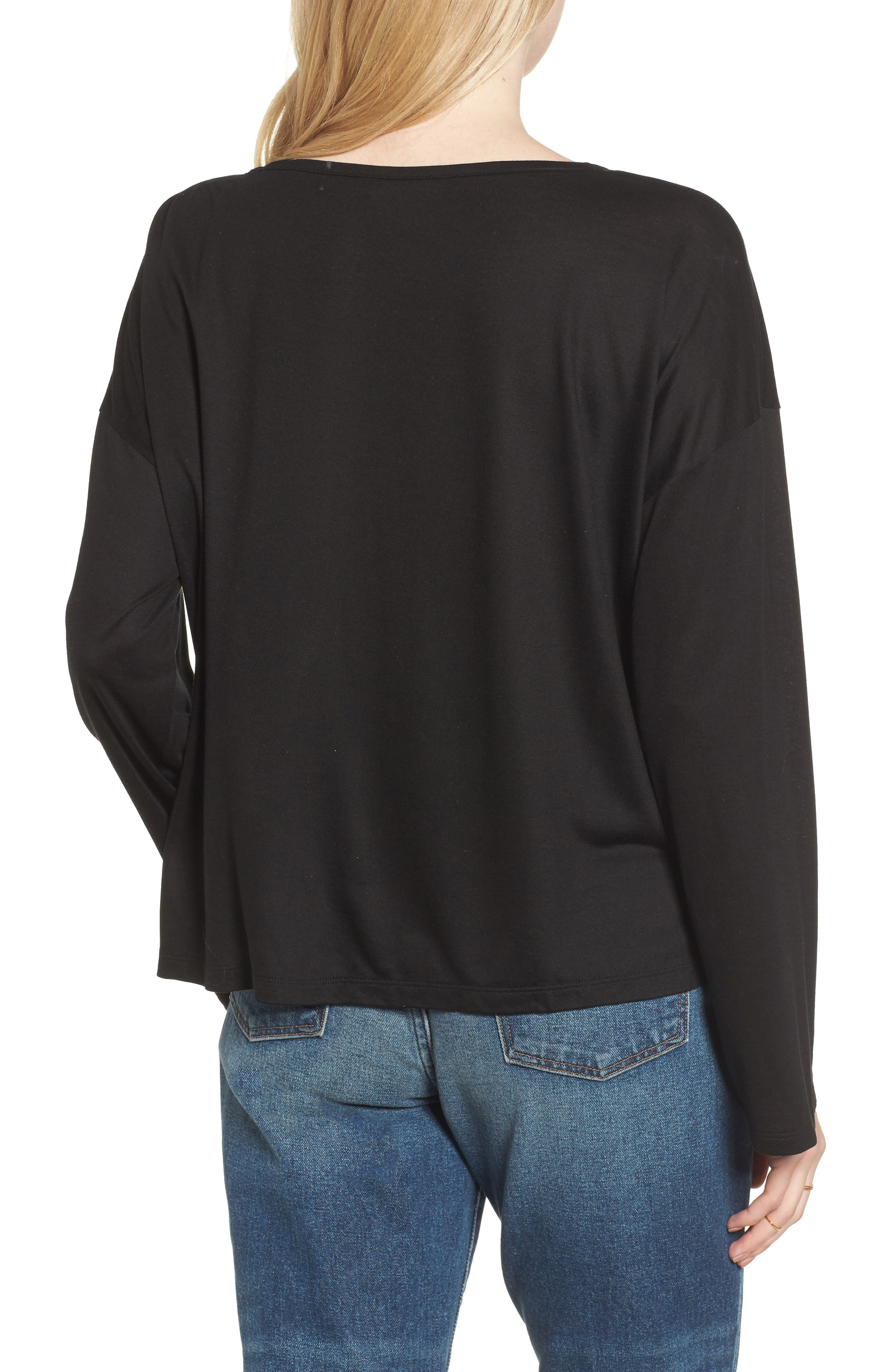 Libretto Wide Sleeve Top,                             Alternate thumbnail 5, color,