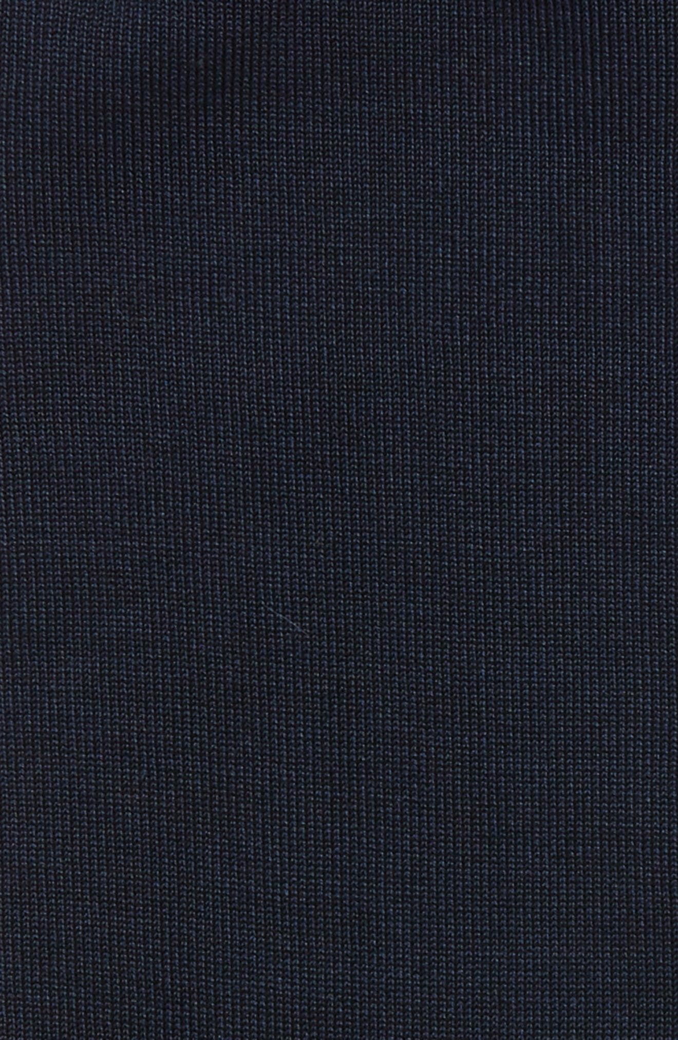 Cotton Blend Socks,                             Alternate thumbnail 2, color,                             NAVY PEACOAT