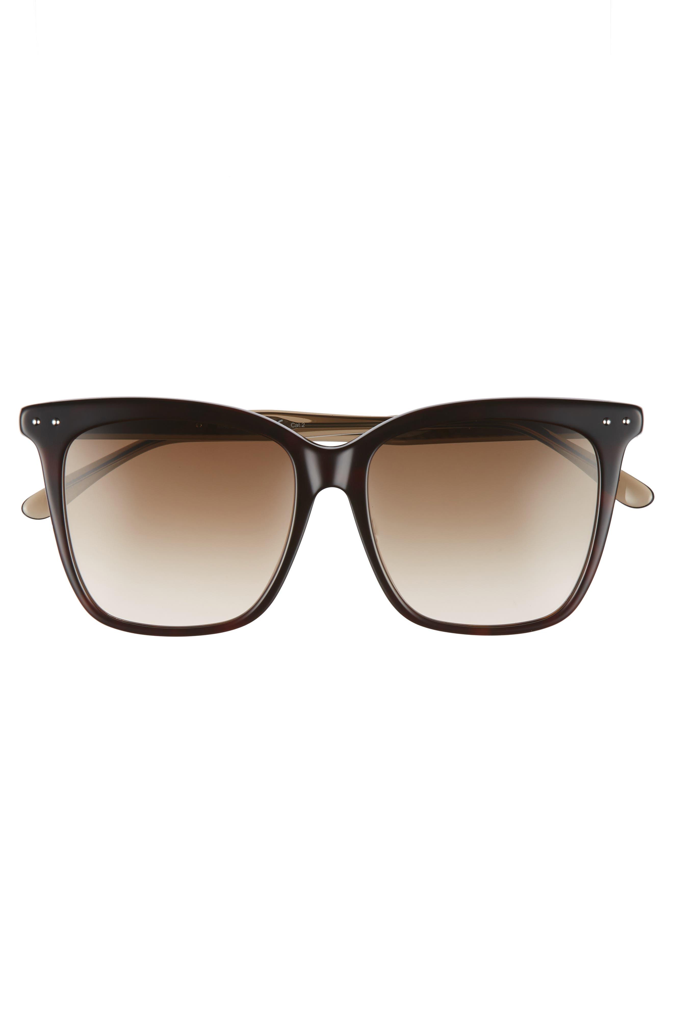 54mm Square Sunglasses,                             Alternate thumbnail 9, color,
