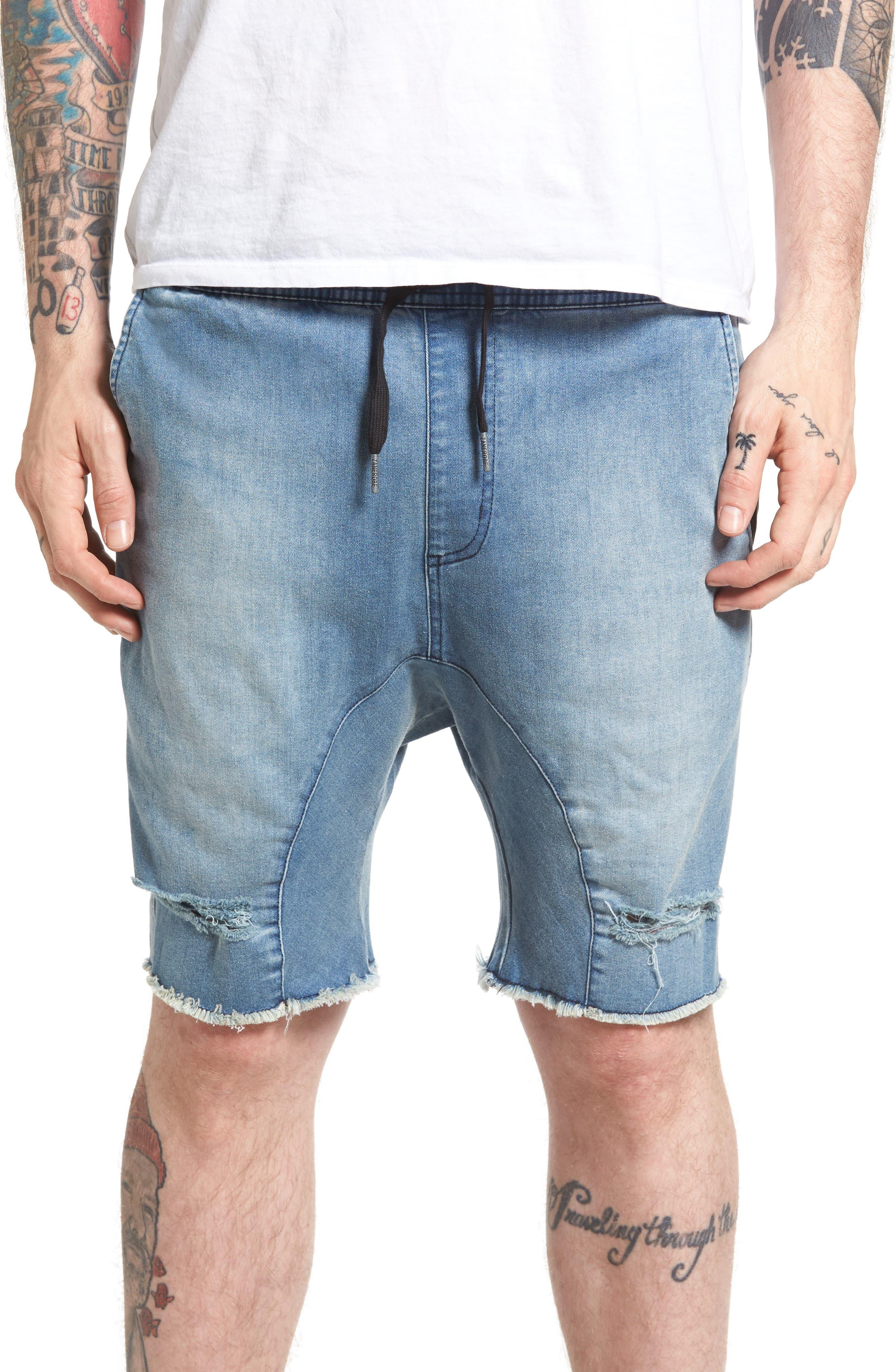 Sureshot Denim Shorts,                         Main,                         color, 430