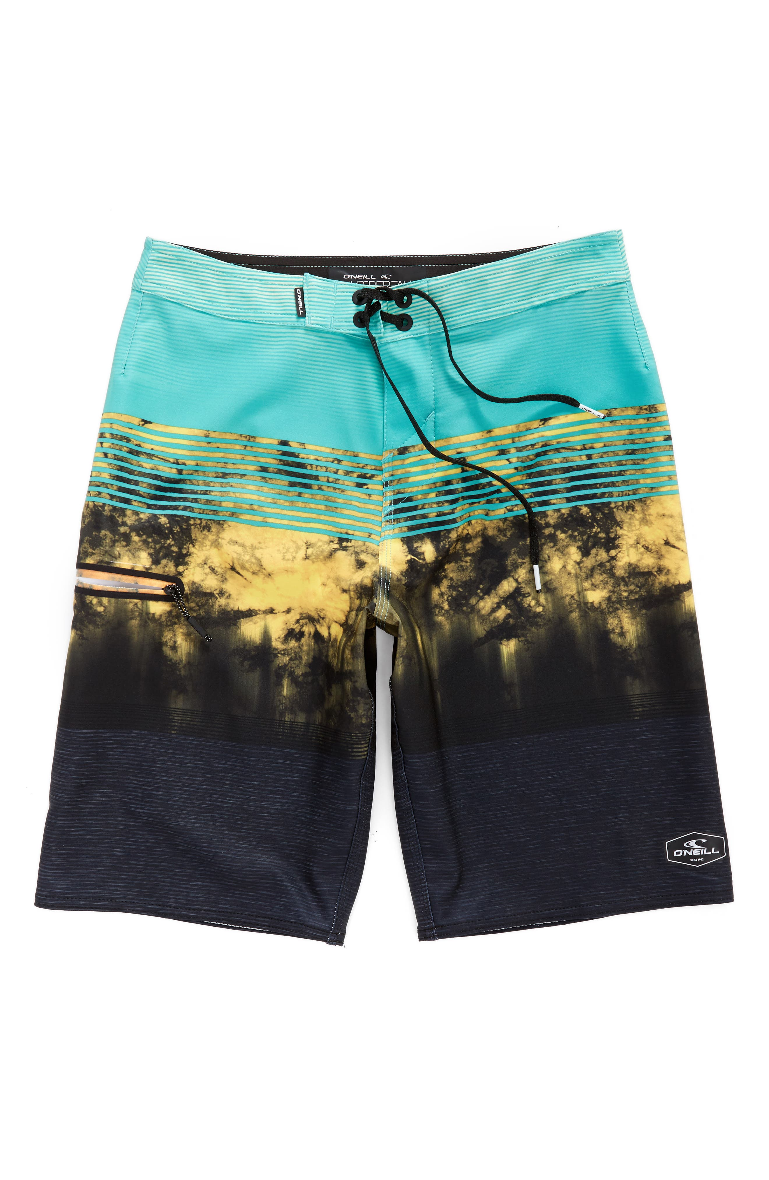 Hyperfreak Board Shorts,                         Main,                         color, AQUA