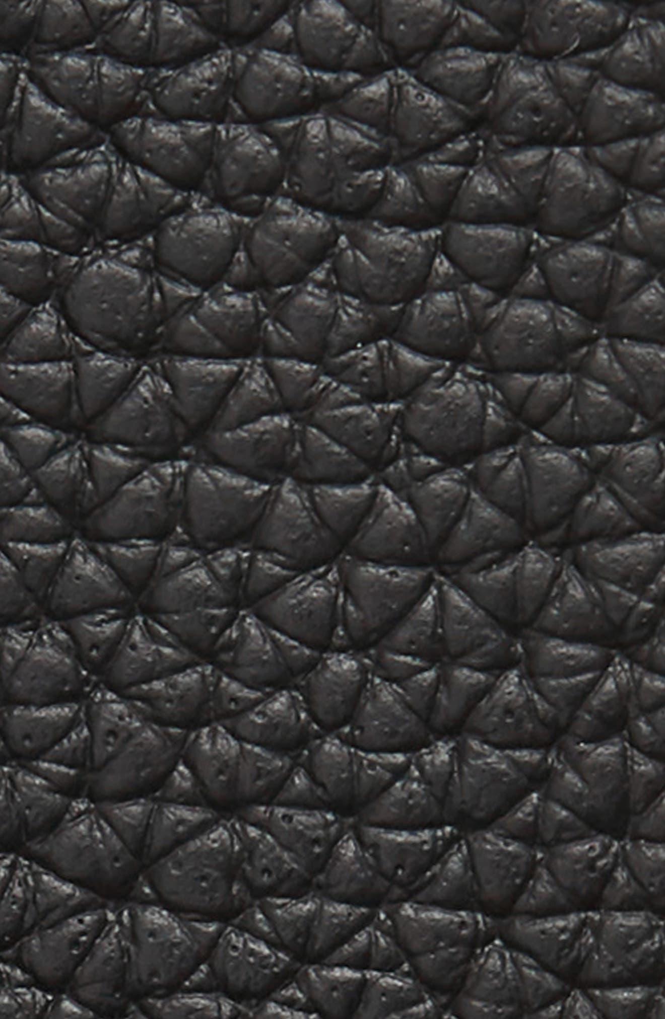 Contemporary Leather Belt,                             Alternate thumbnail 2, color,                             001