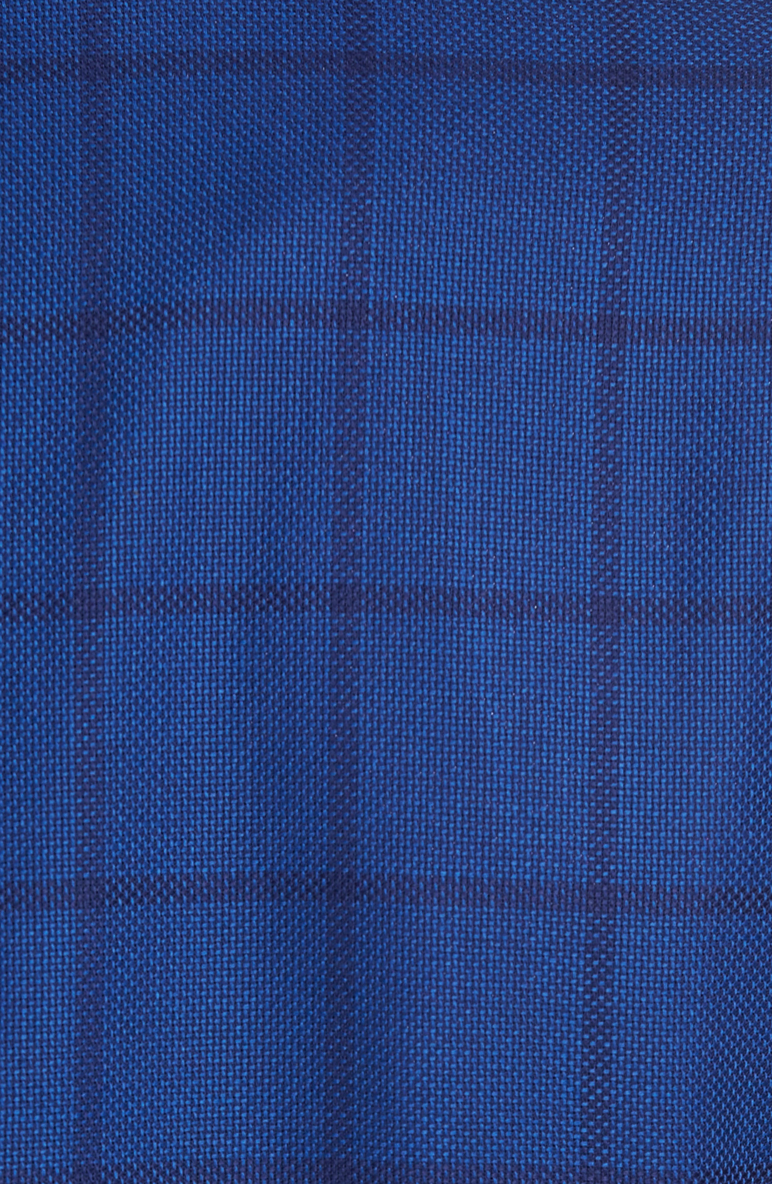 Jay Trim Fit Windowpane Wool Sport Coat,                             Alternate thumbnail 6, color,