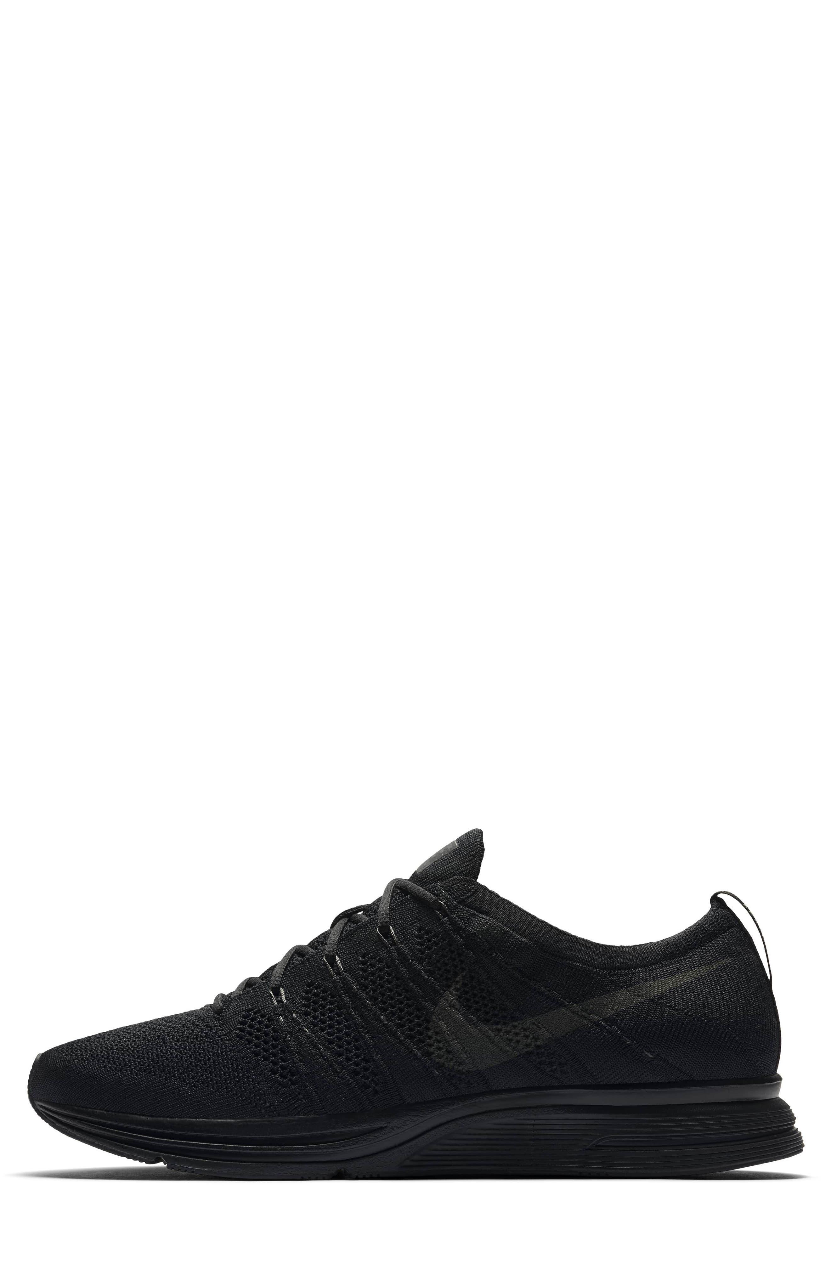 NIKE,                             Flyknit Trainer Sneaker,                             Alternate thumbnail 3, color,                             004