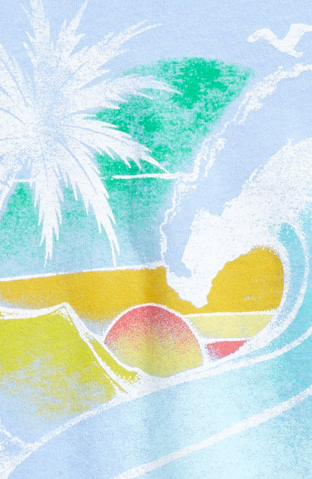 Beach Dreams Graphic Tee,                             Alternate thumbnail 4, color,                             493