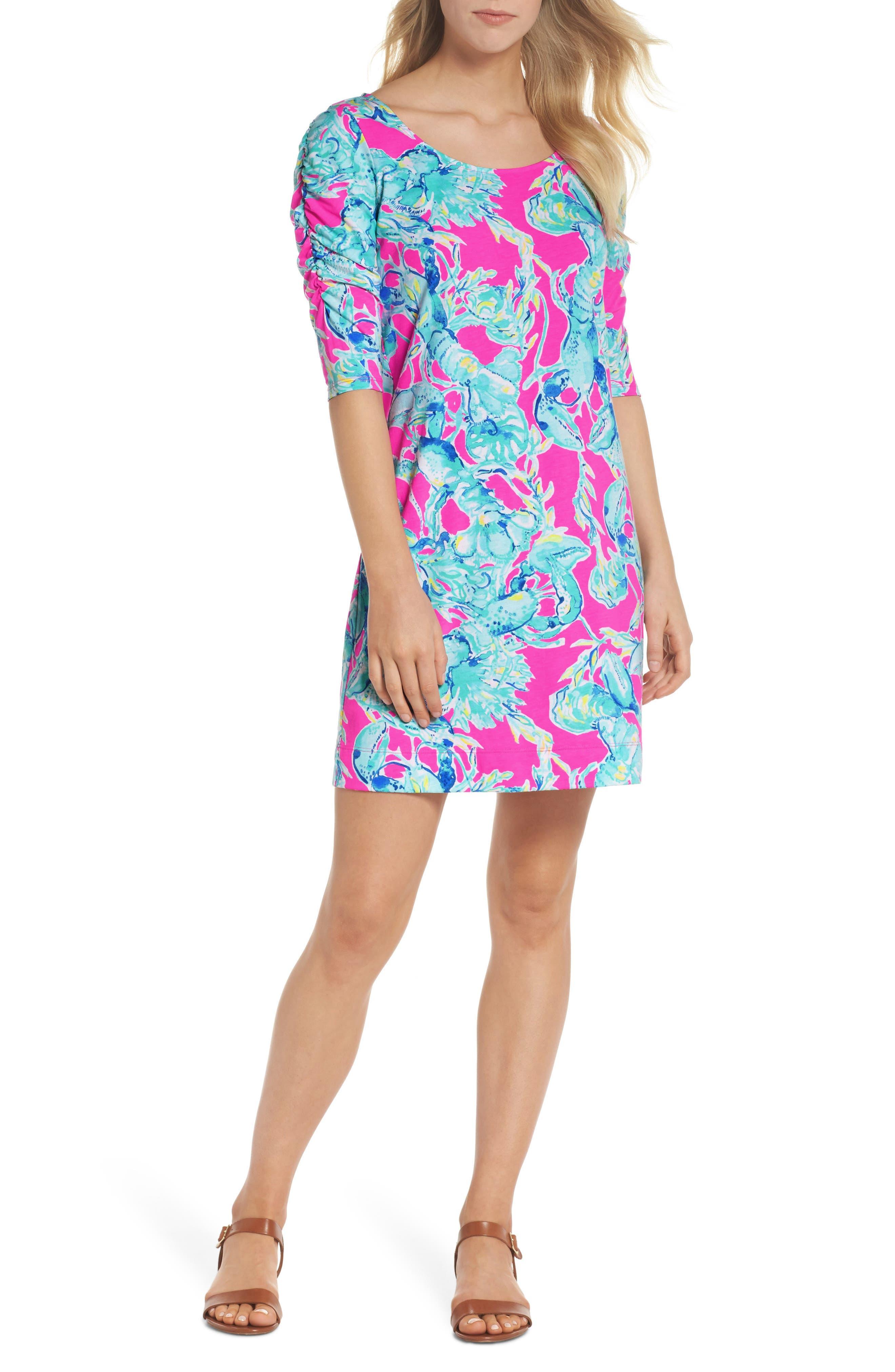 Lajolla T-Shirt Dress,                             Main thumbnail 1, color,                             400