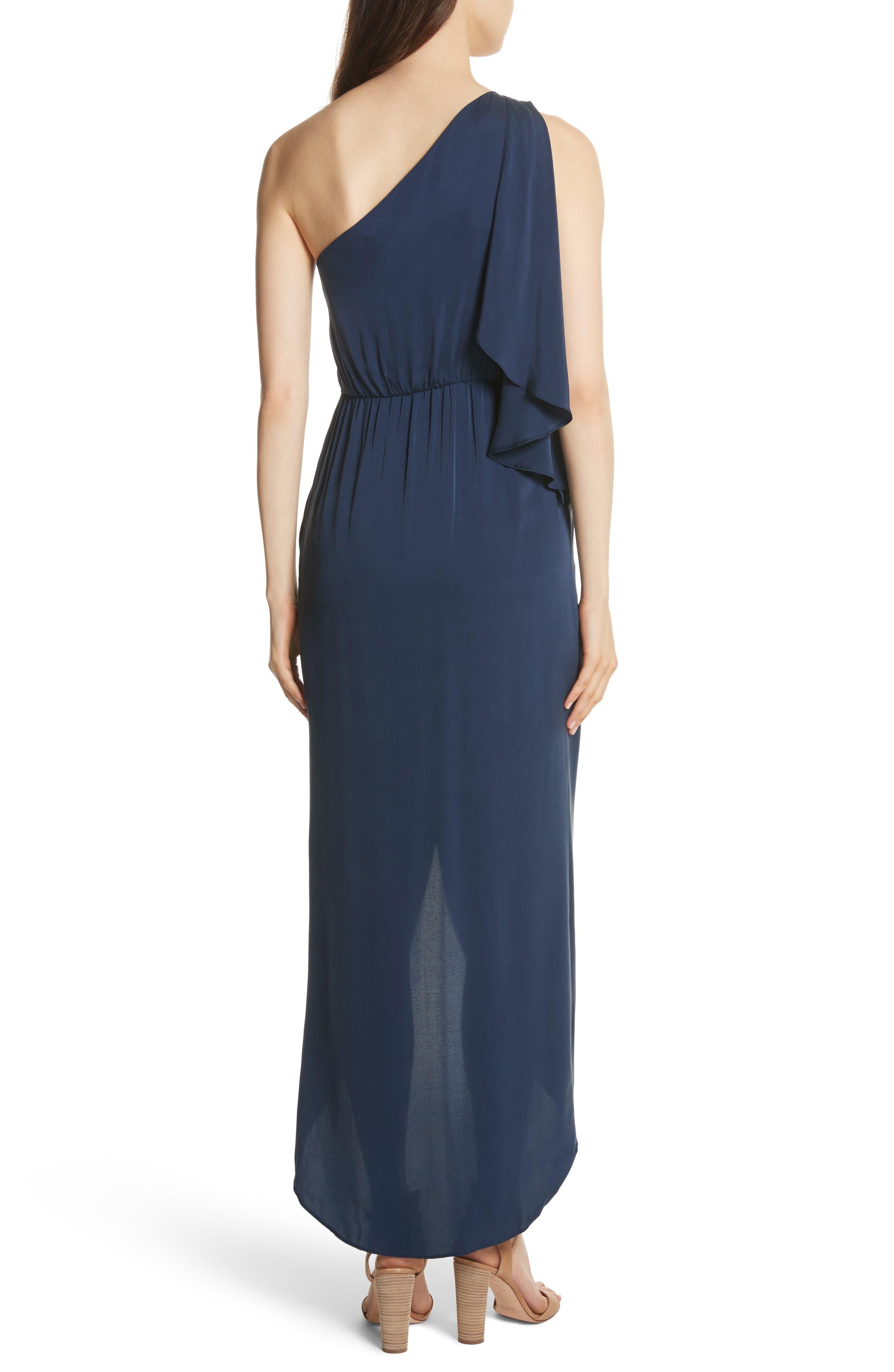 Oleta Side Drape Goddess Dress,                             Alternate thumbnail 2, color,                             460