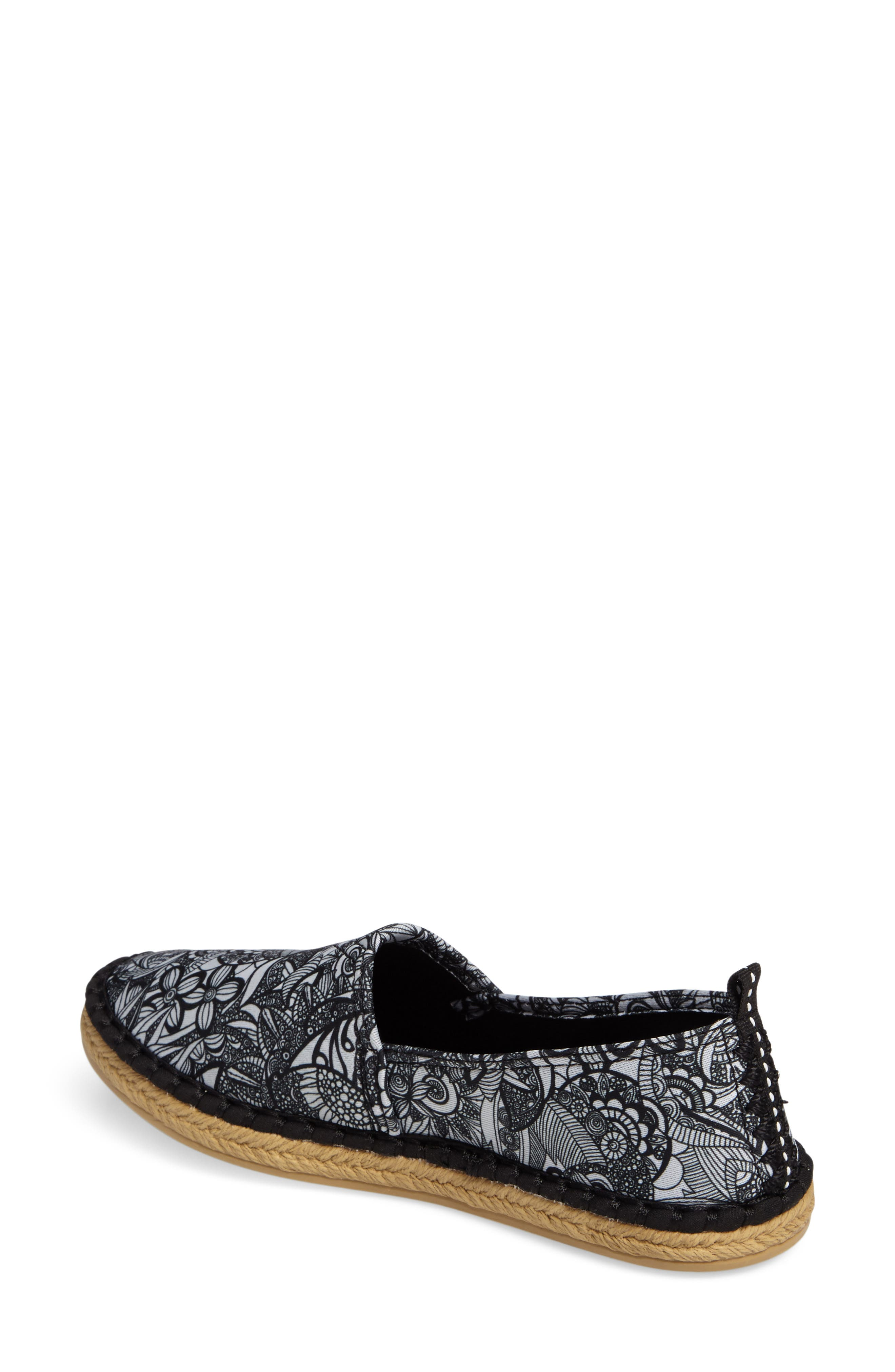 Eton Espadrille Flat,                             Alternate thumbnail 9, color,