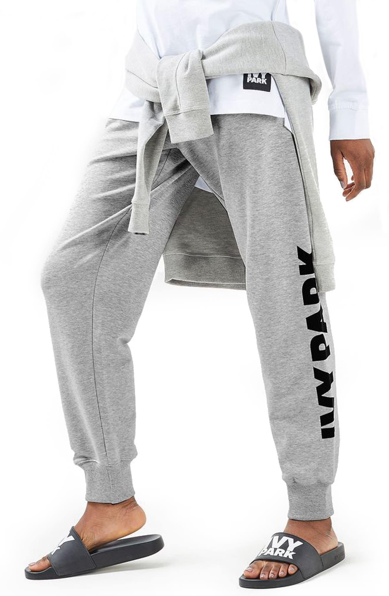 Logo Jogger Pants,                         Main,                         color, 020