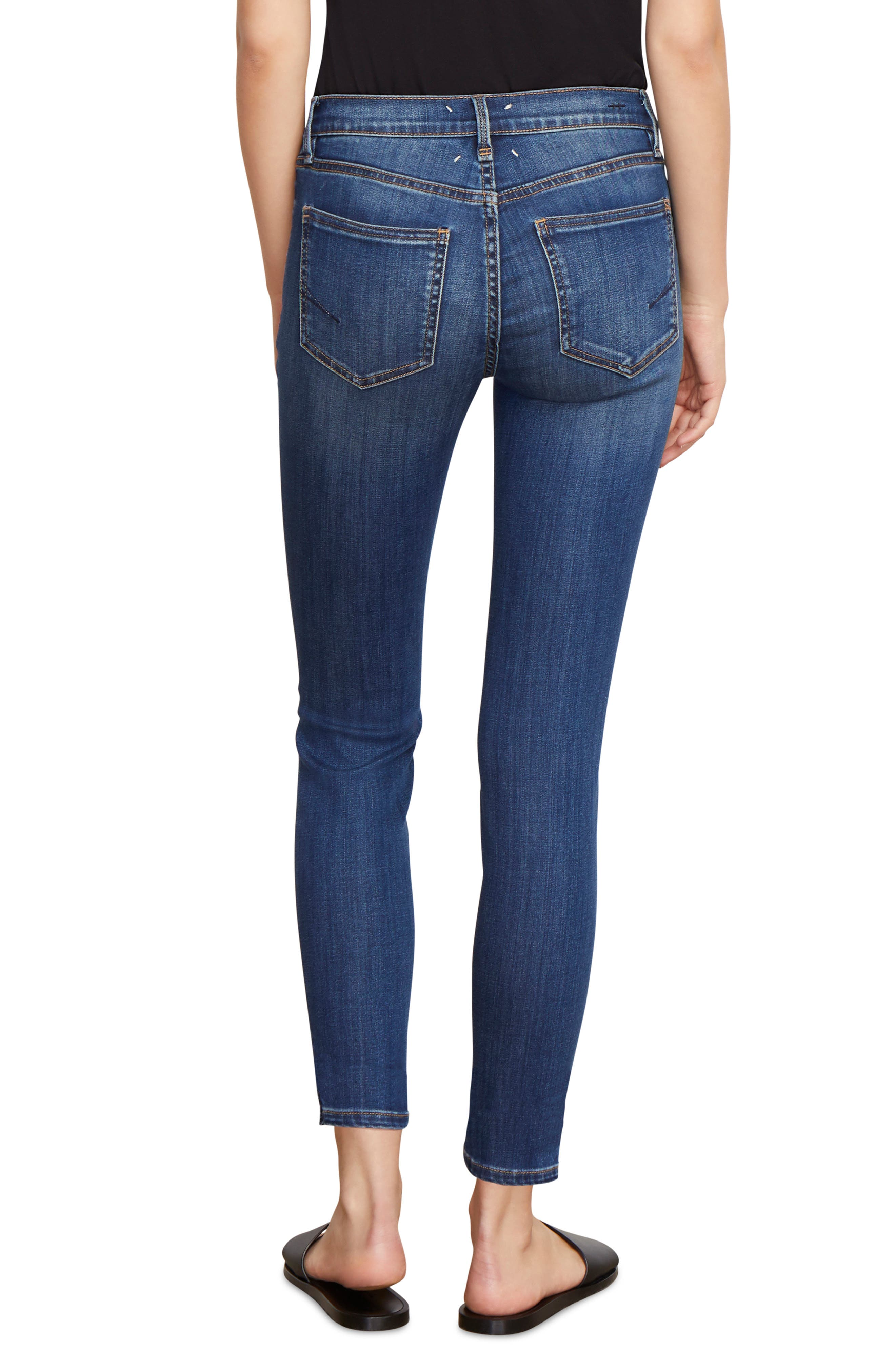 Marina Ankle Skinny Jeans,                             Alternate thumbnail 2, color,                             CABACHON