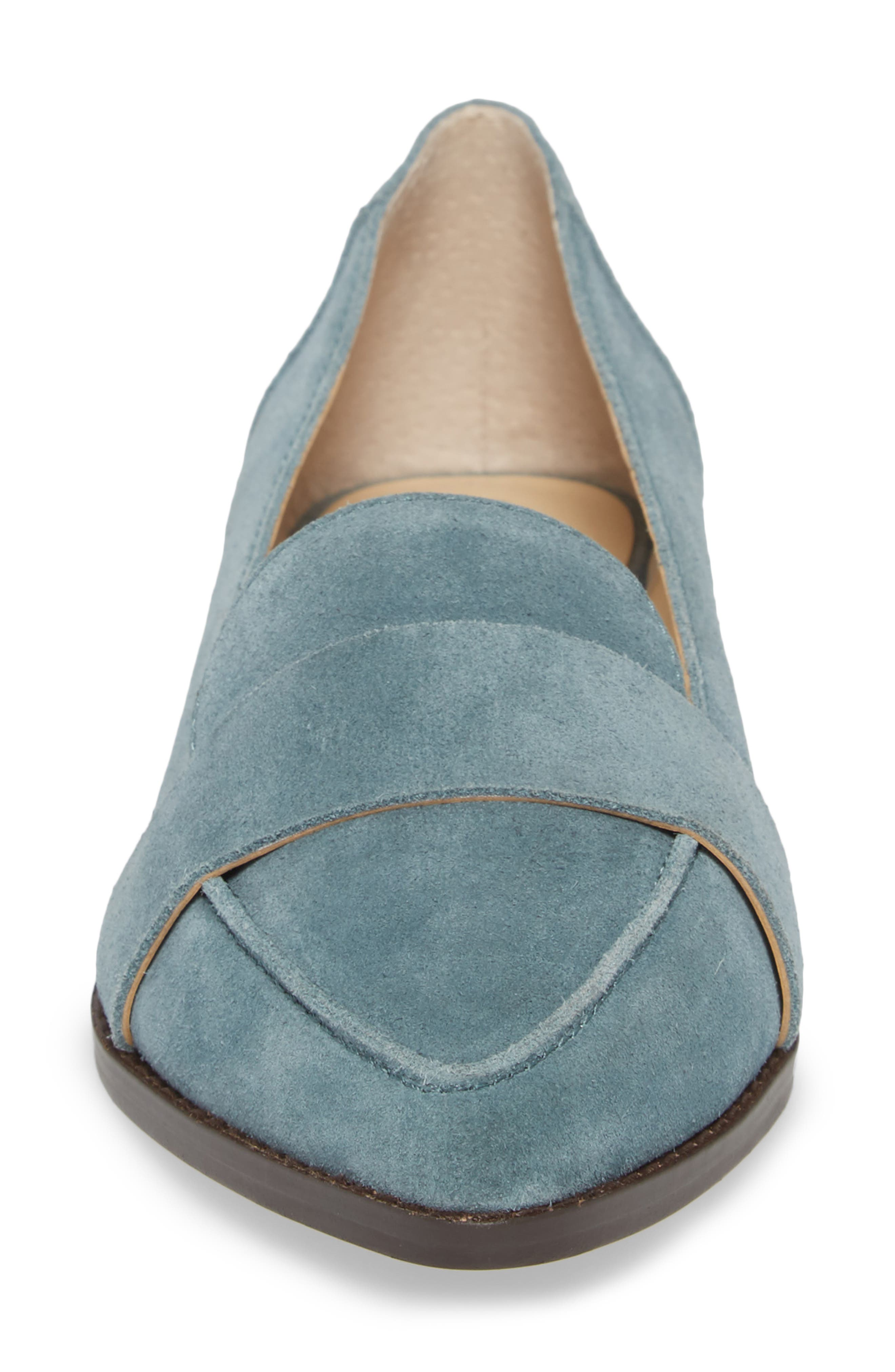 Edie Pointy Toe Loafer,                             Alternate thumbnail 39, color,