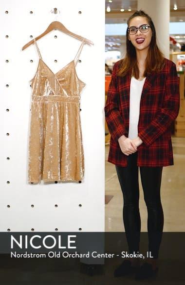 Cutout Velvet Skater Dress, sales video thumbnail