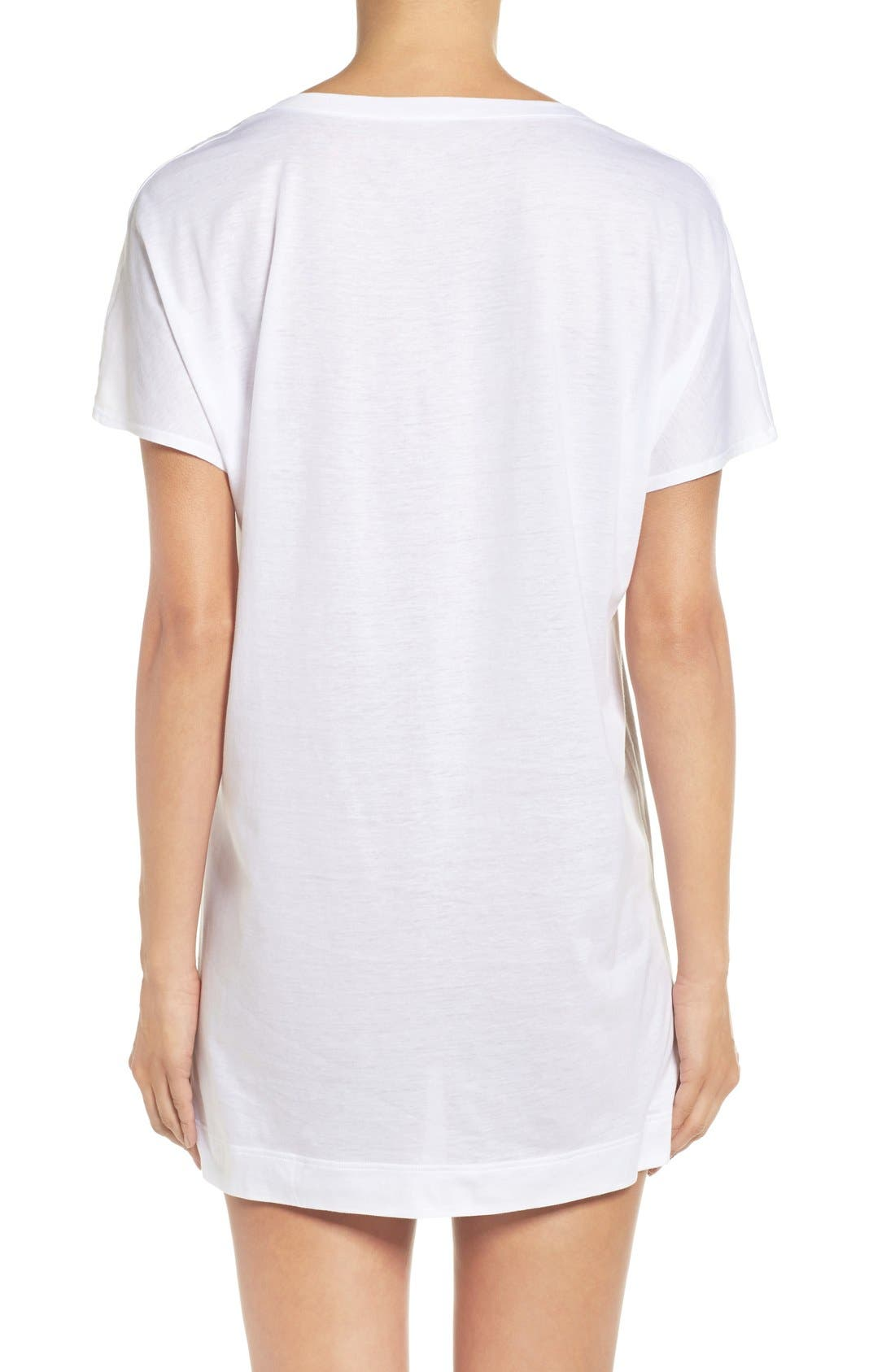 Laura Jersey Sleep Shirt,                             Alternate thumbnail 14, color,