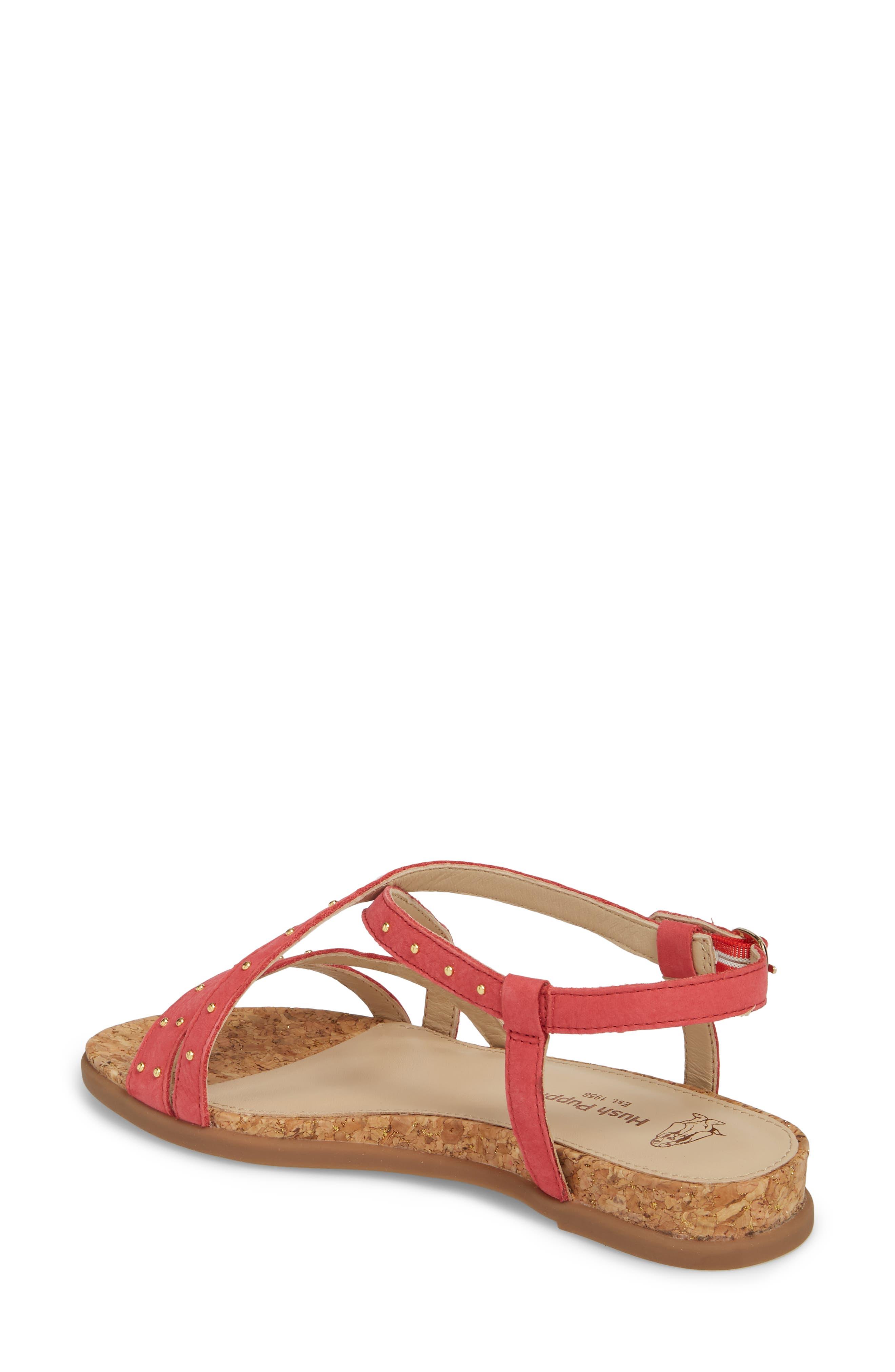 Dalmatian Studded Sandal,                             Alternate thumbnail 7, color,