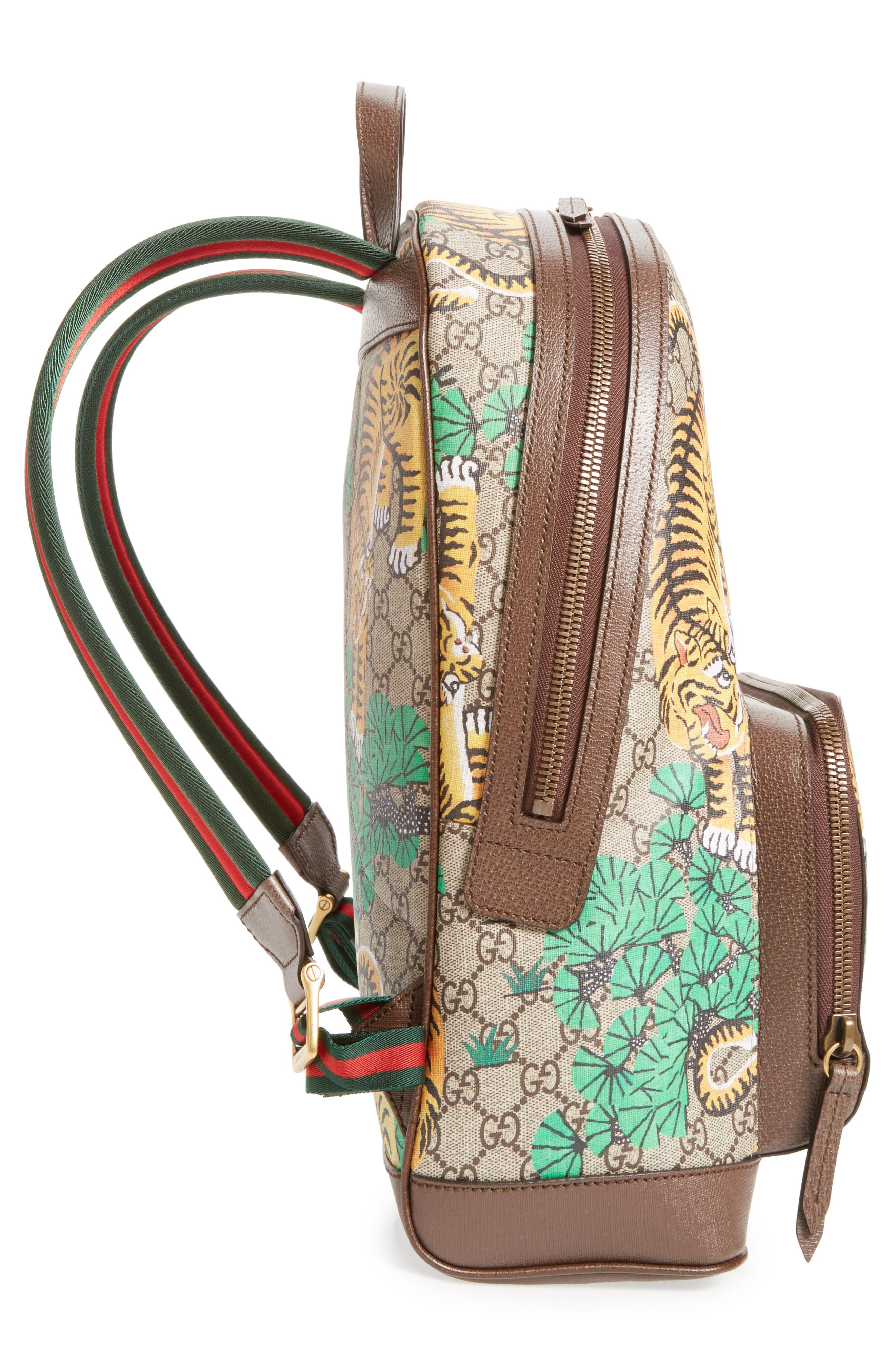 Tiger Cub Supreme Canvas Backpack,                             Alternate thumbnail 5, color,                             250
