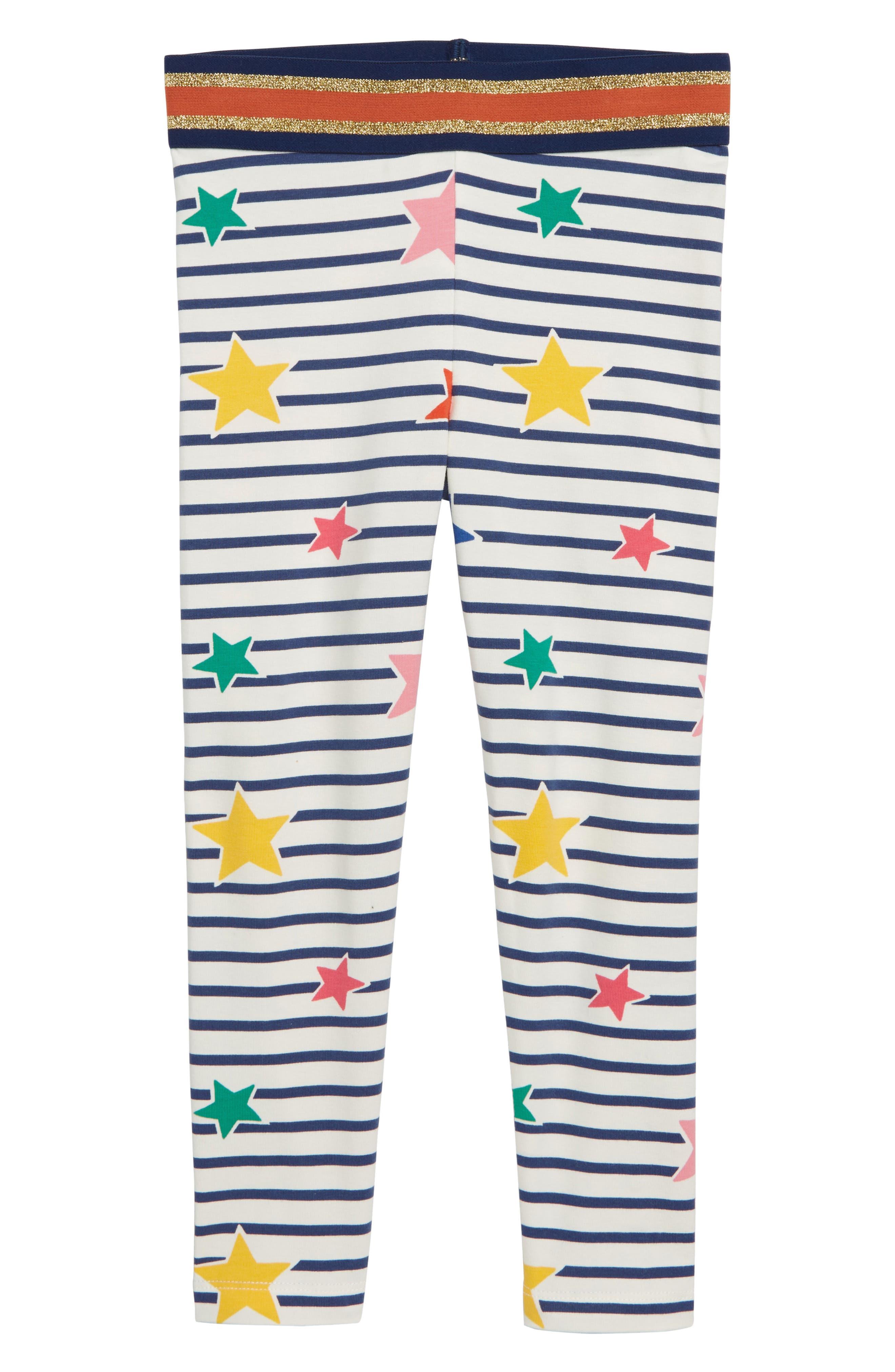 Detail Leggings,                         Main,                         color, STARBOARD BLUE/ GLITTER STARS