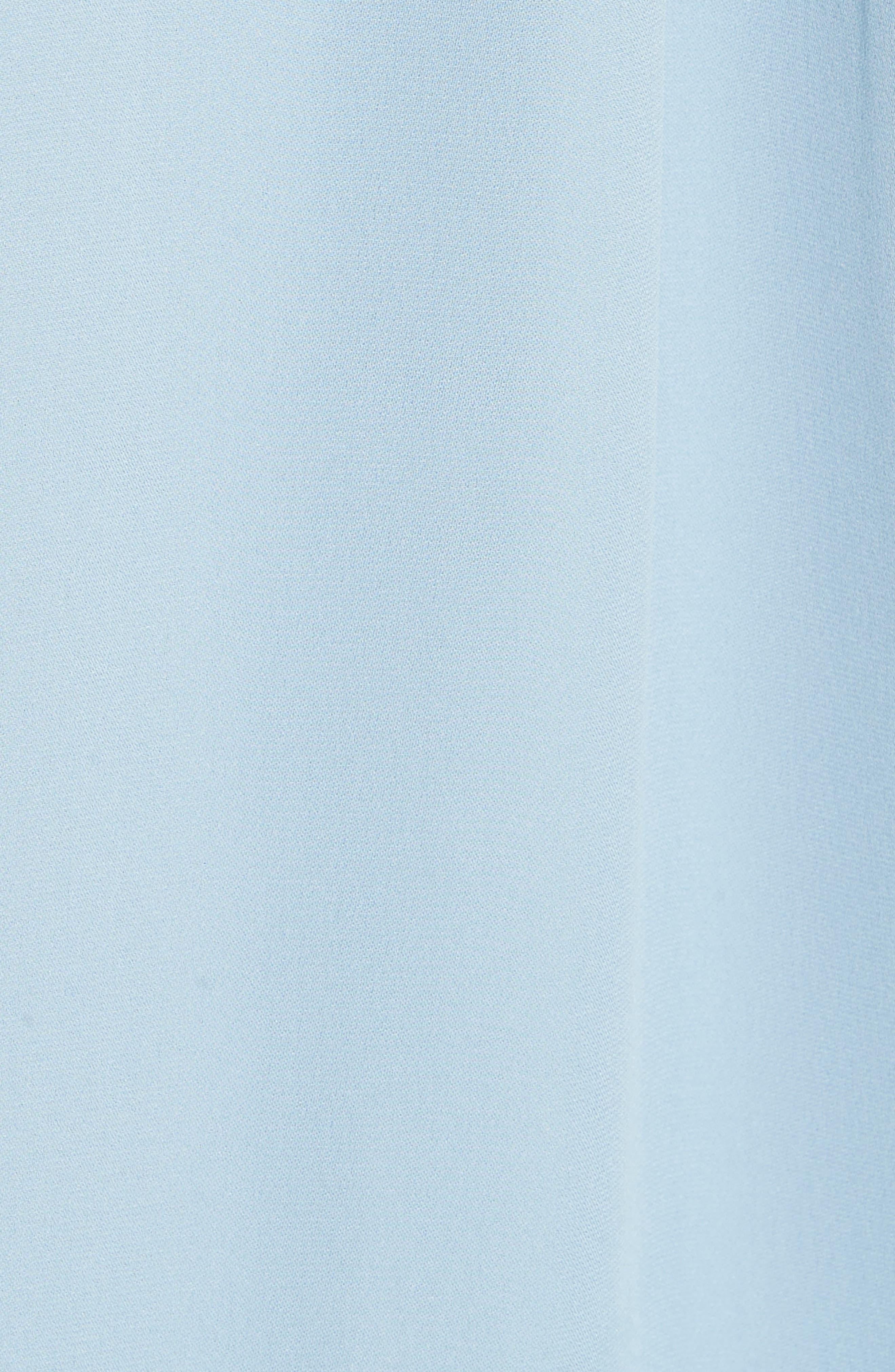 Kyria Silk Midi Dress,                             Alternate thumbnail 6, color,                             400