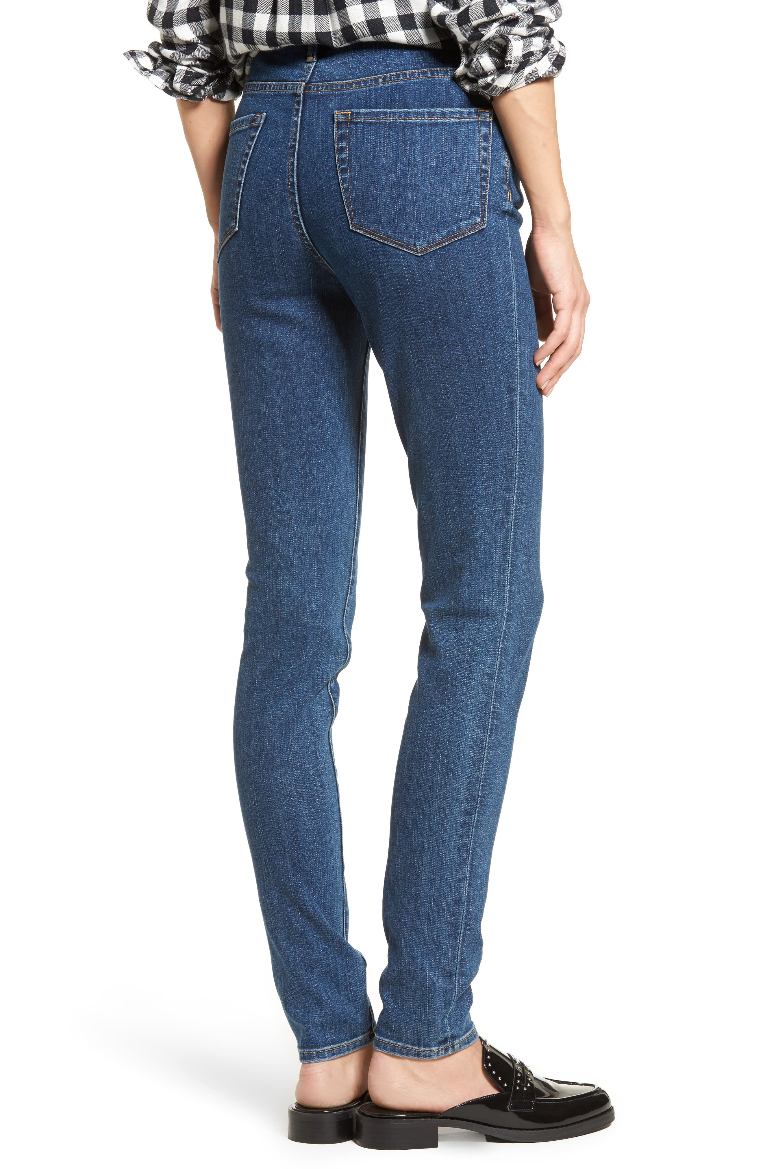 Charity High Waist Skinny Jeans,                             Alternate thumbnail 2, color,
