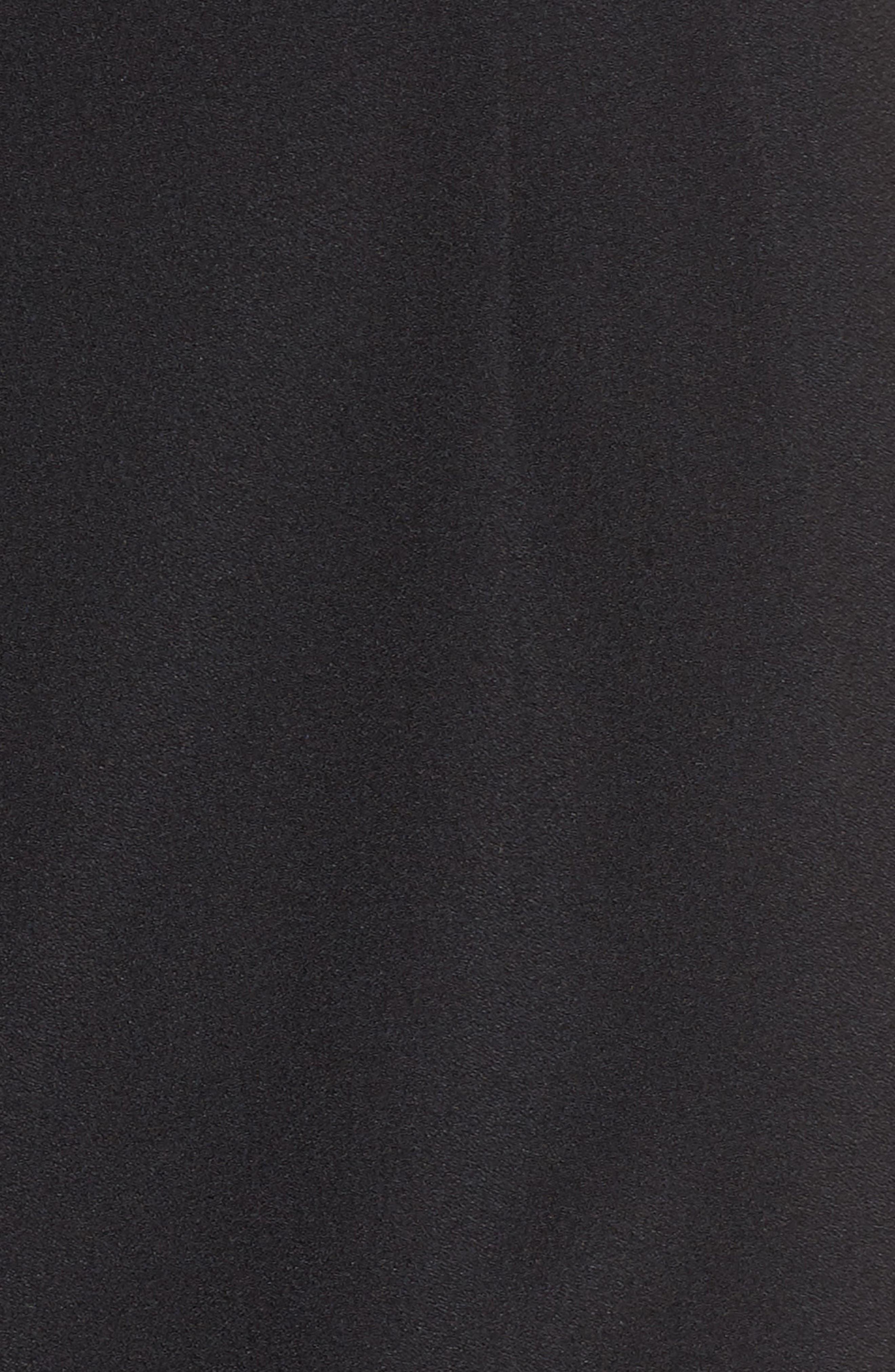 One-Shoulder Jumpsuit,                             Alternate thumbnail 6, color,                             BLACK