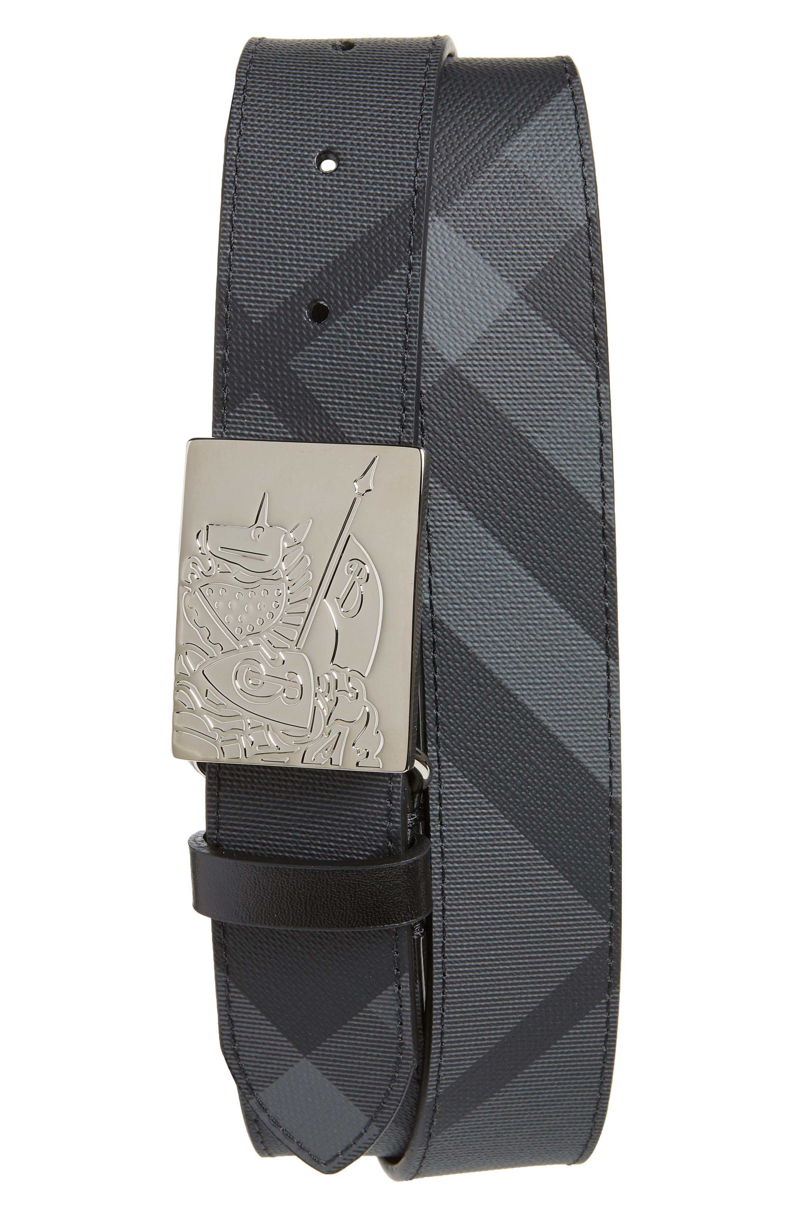 Luke Check Belt,                         Main,                         color, 020