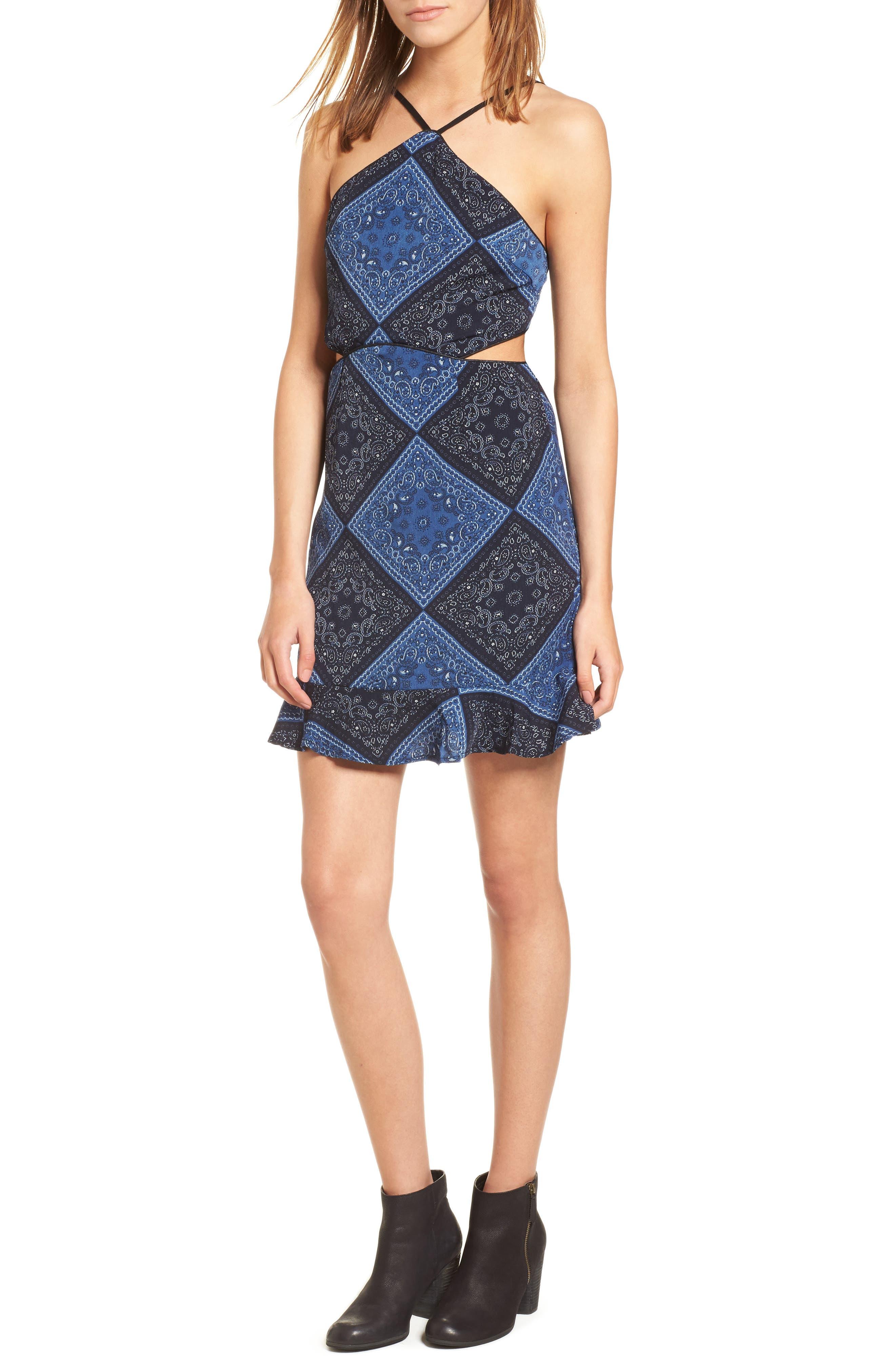 Bandana Bella Dress,                         Main,                         color, 400