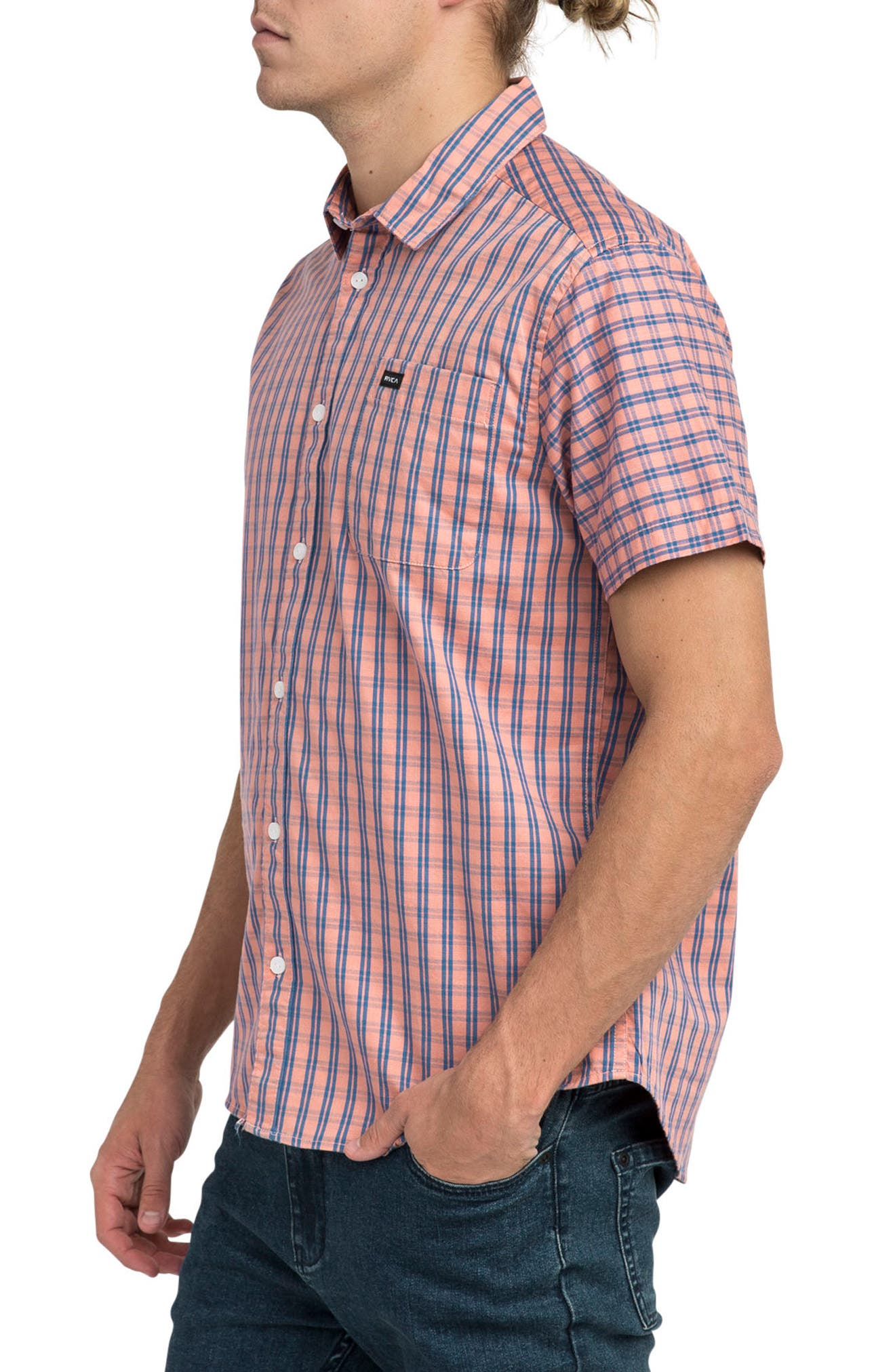Delivery Woven Shirt,                             Alternate thumbnail 3, color,                             200