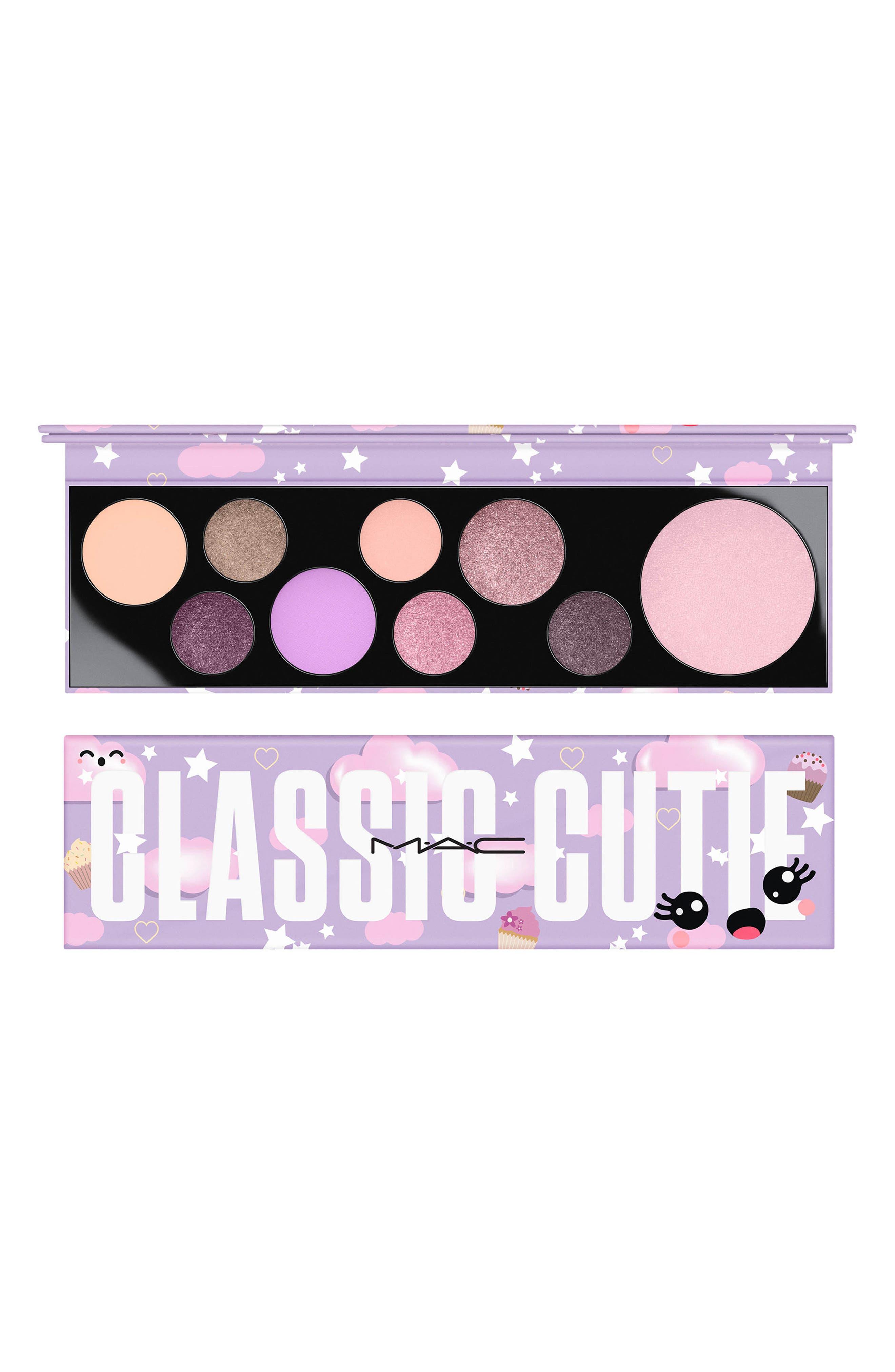 MAC Girls Classic Cutie Palette,                             Main thumbnail 1, color,                             CLASSIC CUTIE