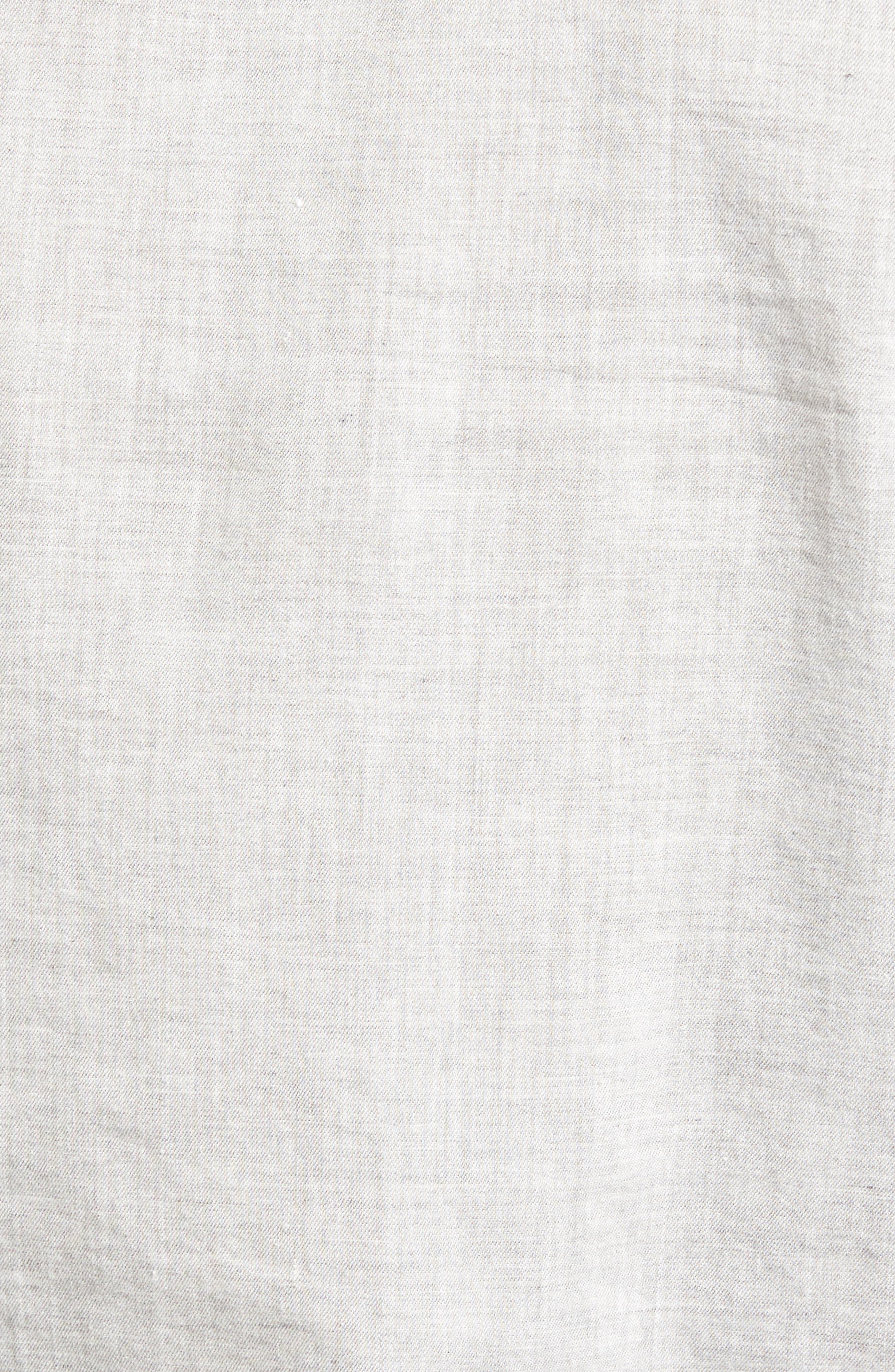 Grady Trim Fit Sport Shirt,                             Alternate thumbnail 5, color,                             022