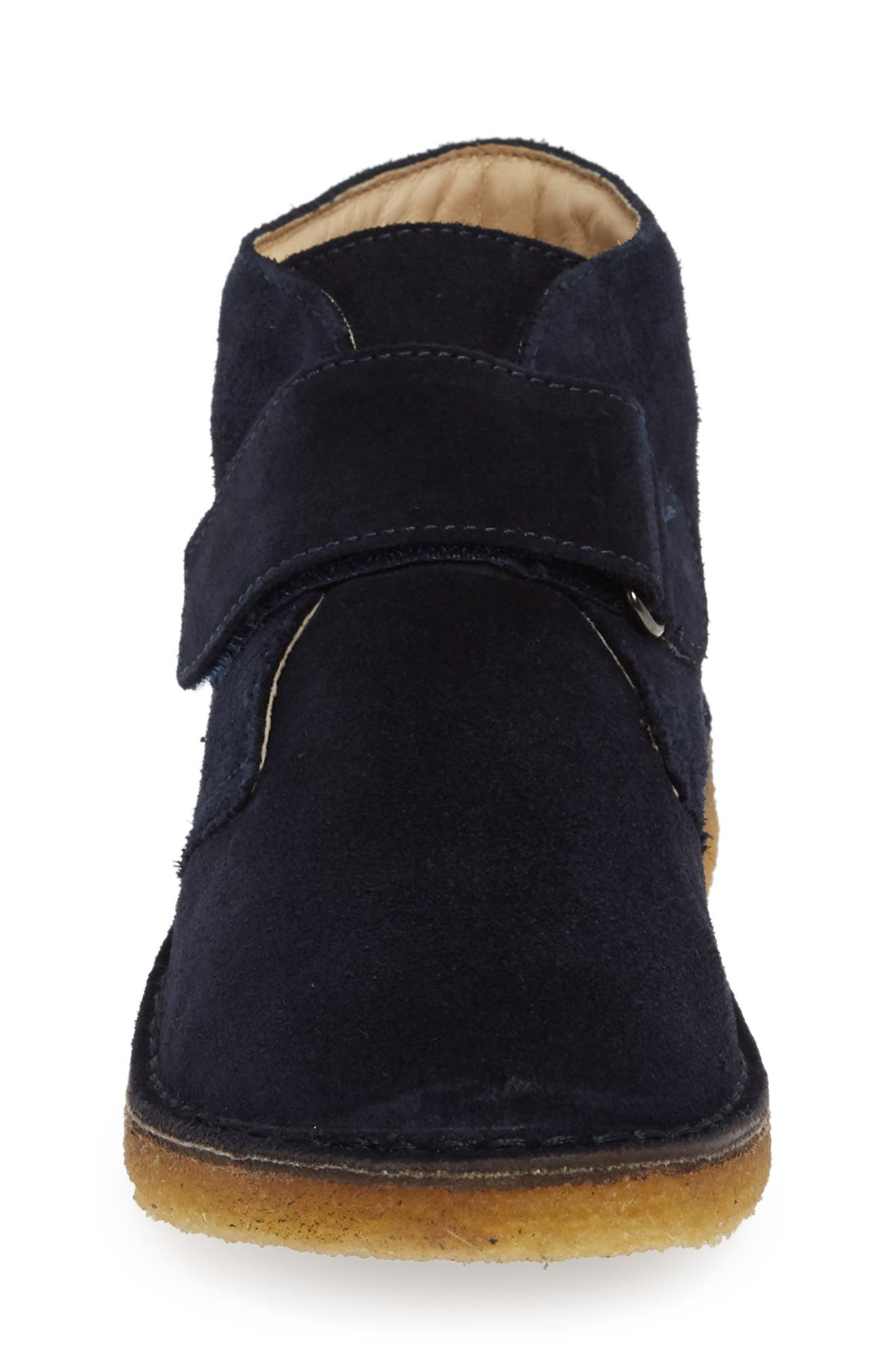 Choco Chukka Boot,                             Alternate thumbnail 4, color,                             BLUE SUEDE