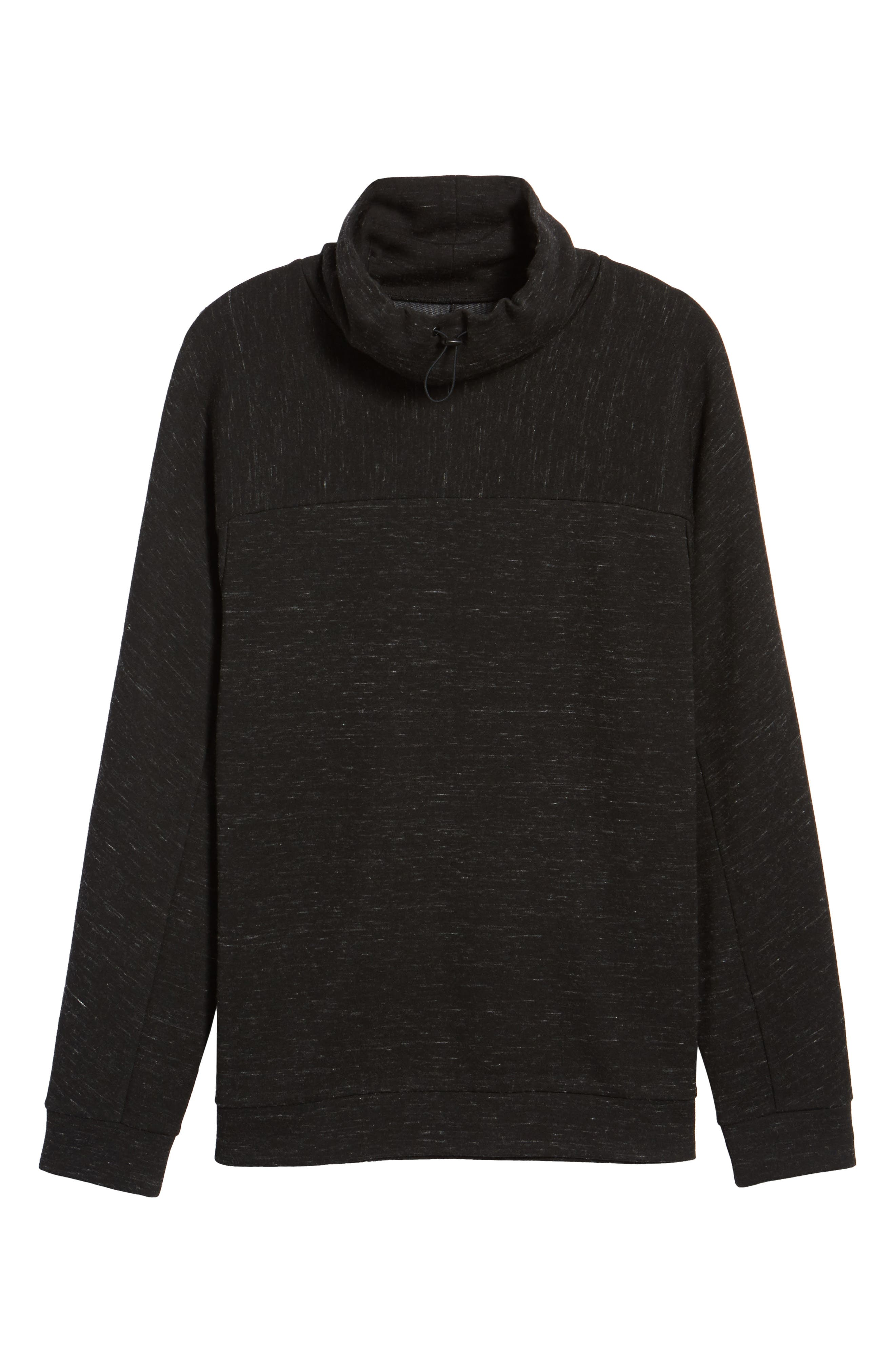 Space Dye Fleece Pullover,                             Alternate thumbnail 6, color,