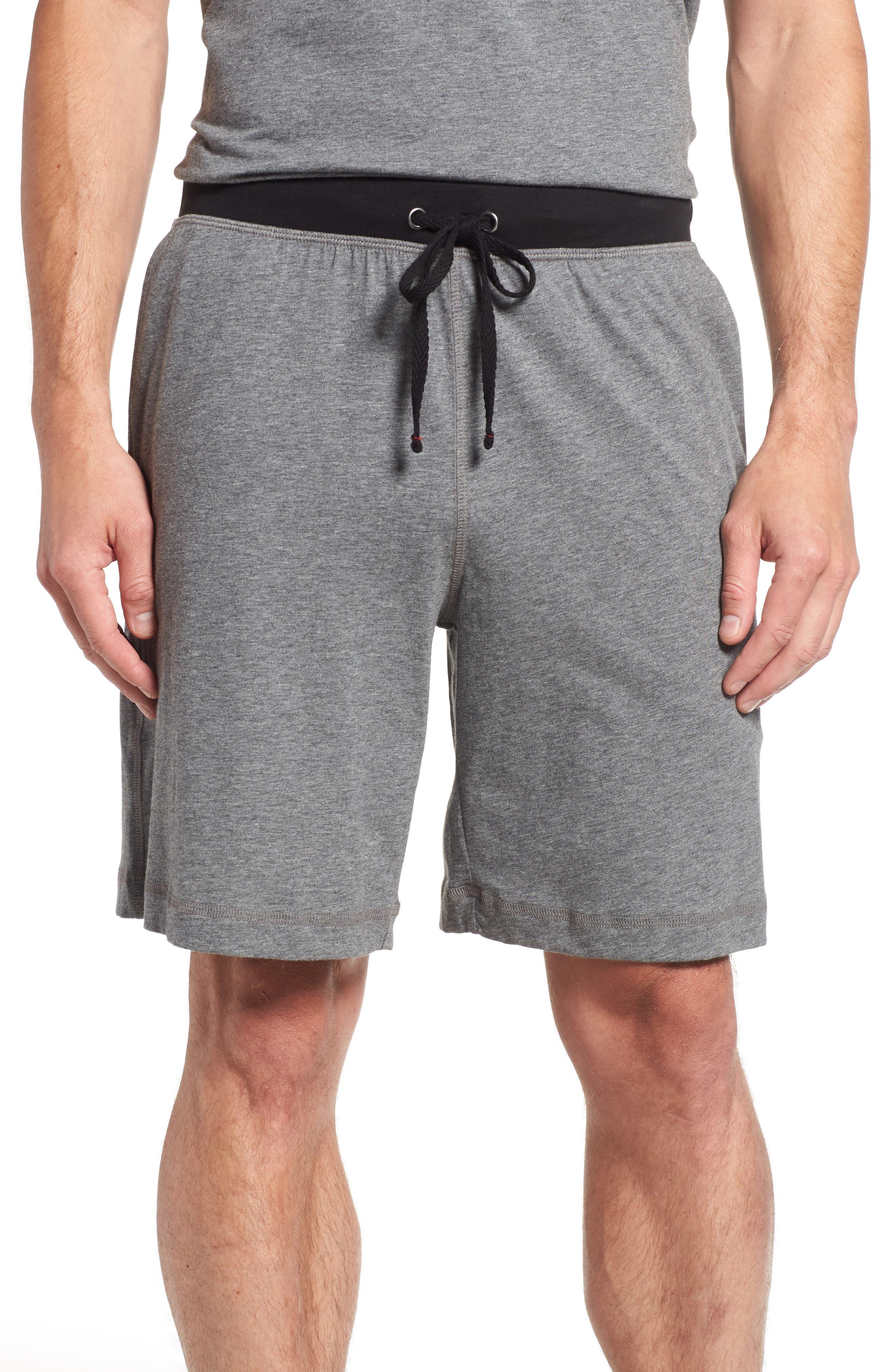 Peruvian Pima Cotton Lounge Shorts, Main, color, 031