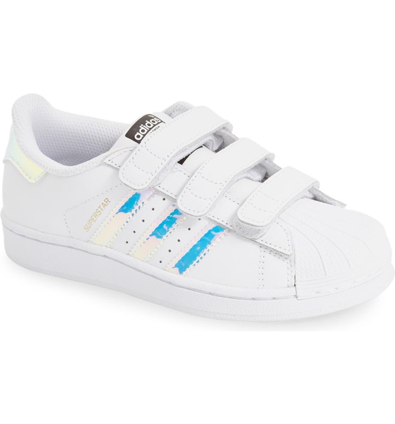 adidas Superstar - Iridescent Sneaker (Baby, Walker, Toddler & Little Kid) | Nordstrom