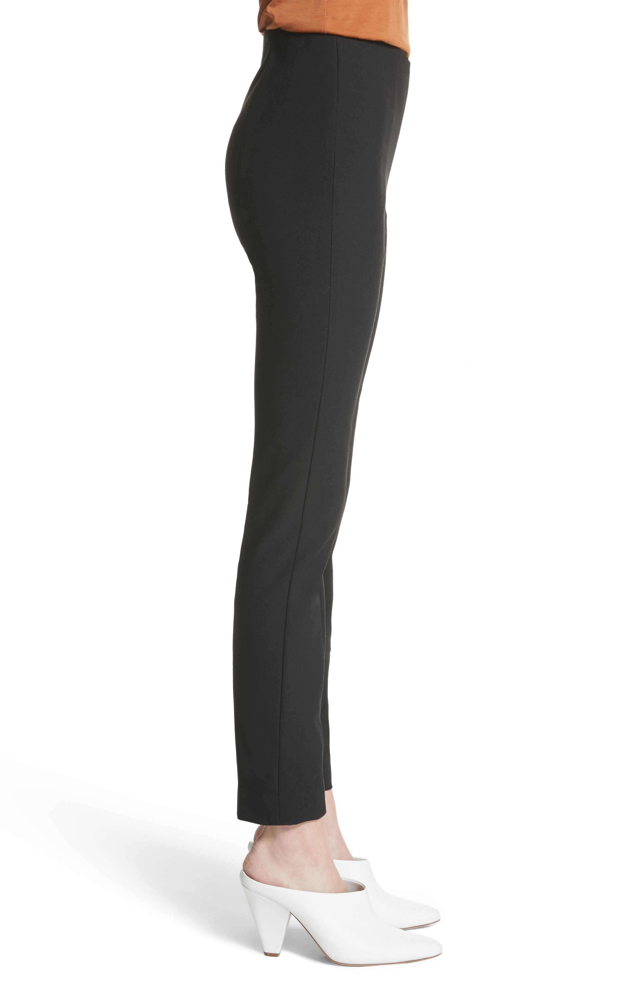 High Waist Leggings,                             Alternate thumbnail 3, color,                             001
