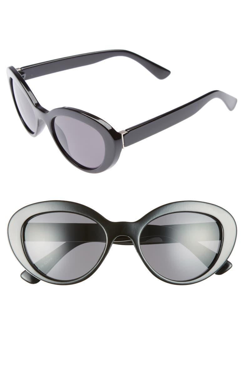 BP. 50mm Vintage Cat Eye Sunglasses | Nordstrom