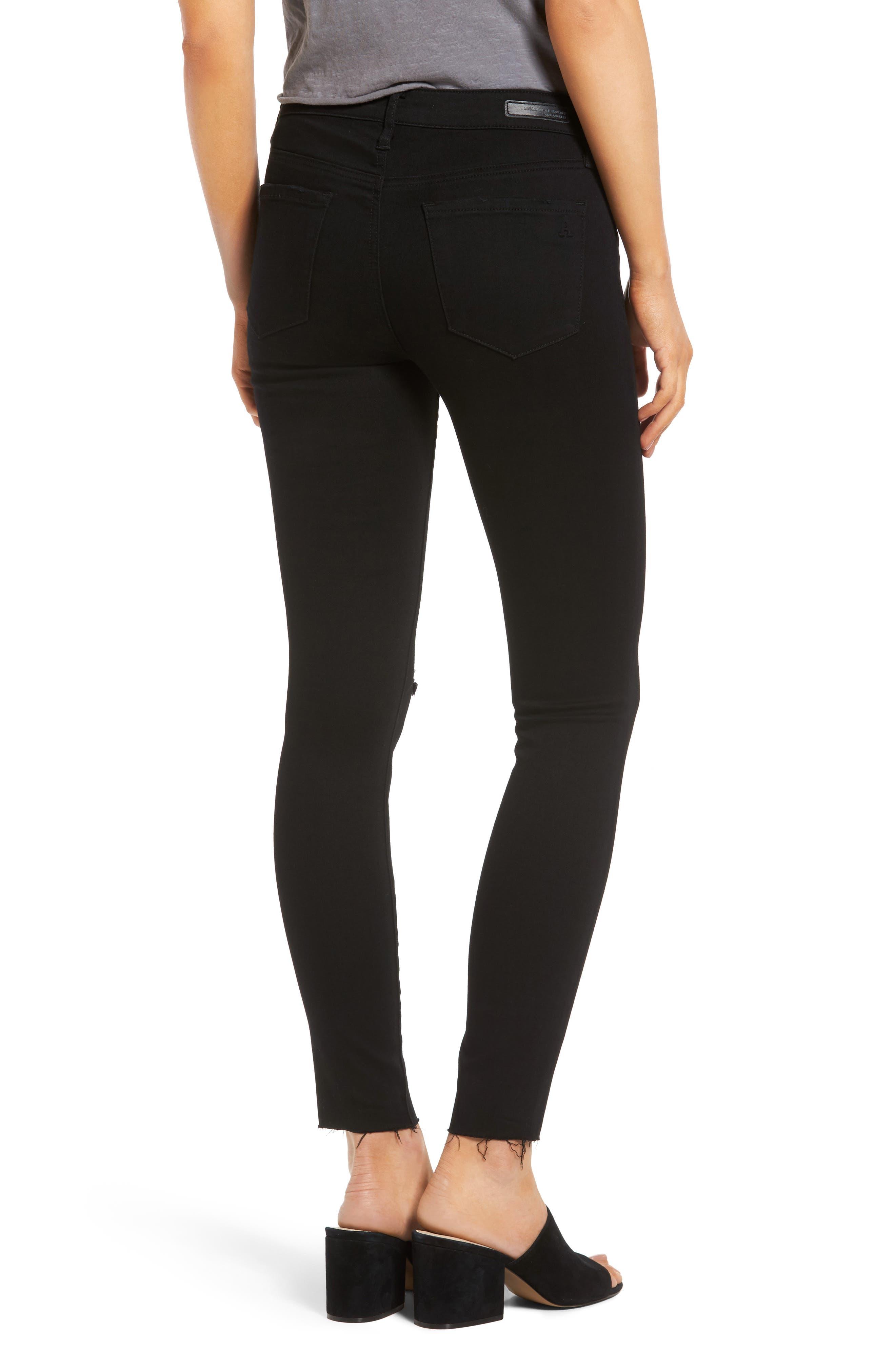 Sarah Skinny Jeans,                             Alternate thumbnail 2, color,                             001
