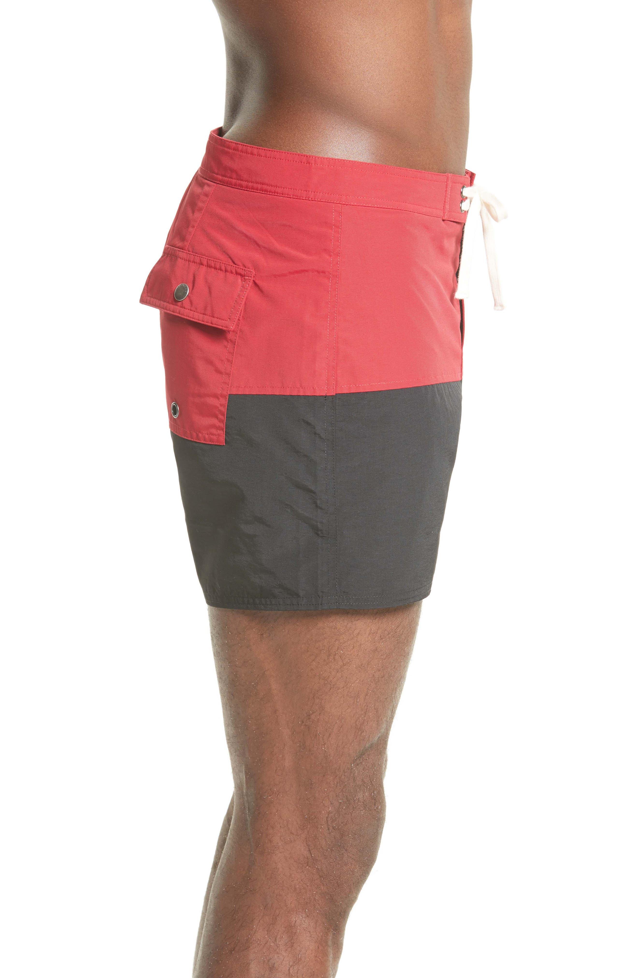 Ennis Colorblock Board Shorts,                             Alternate thumbnail 3, color,