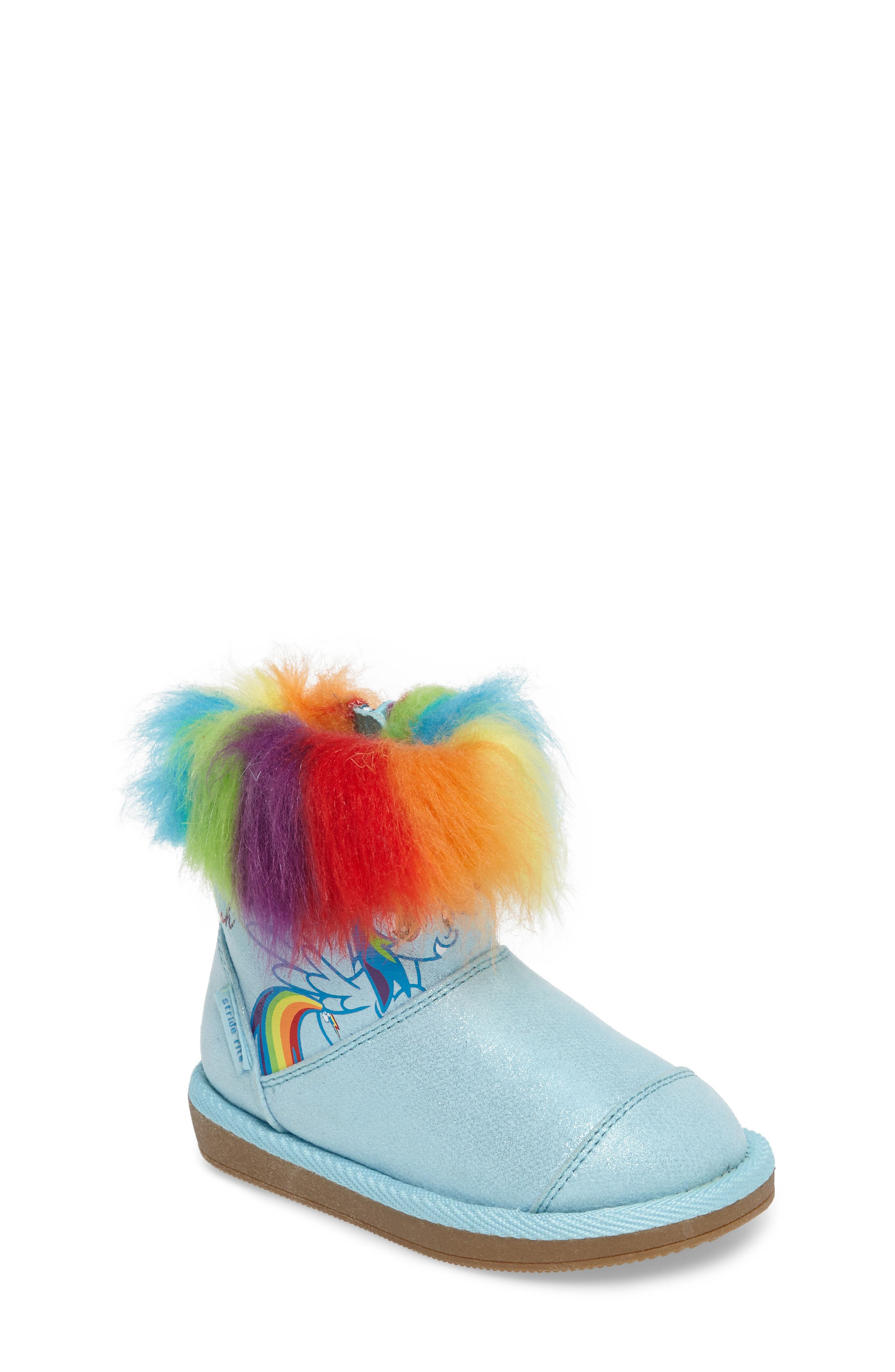 My Little Pony<sup>®</sup> Rainbow Dash Boot,                             Main thumbnail 1, color,                             400