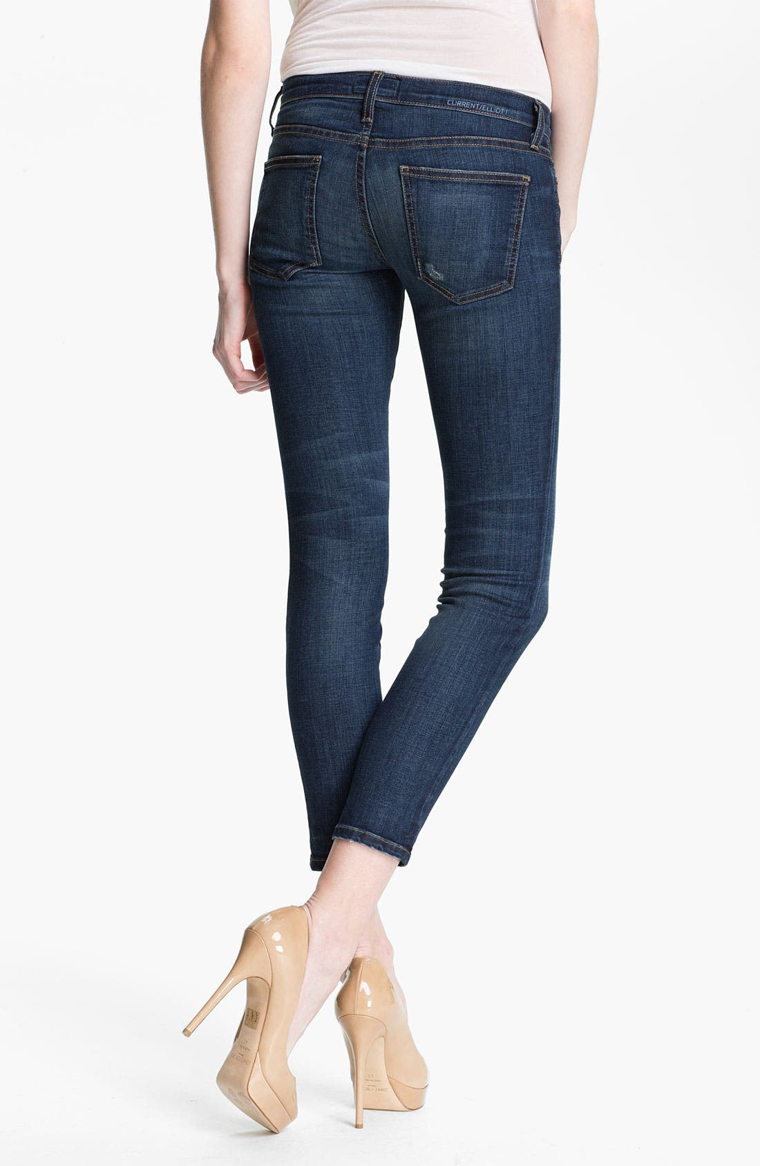 'The Stiletto' Stretch Jeans,                             Alternate thumbnail 17, color,