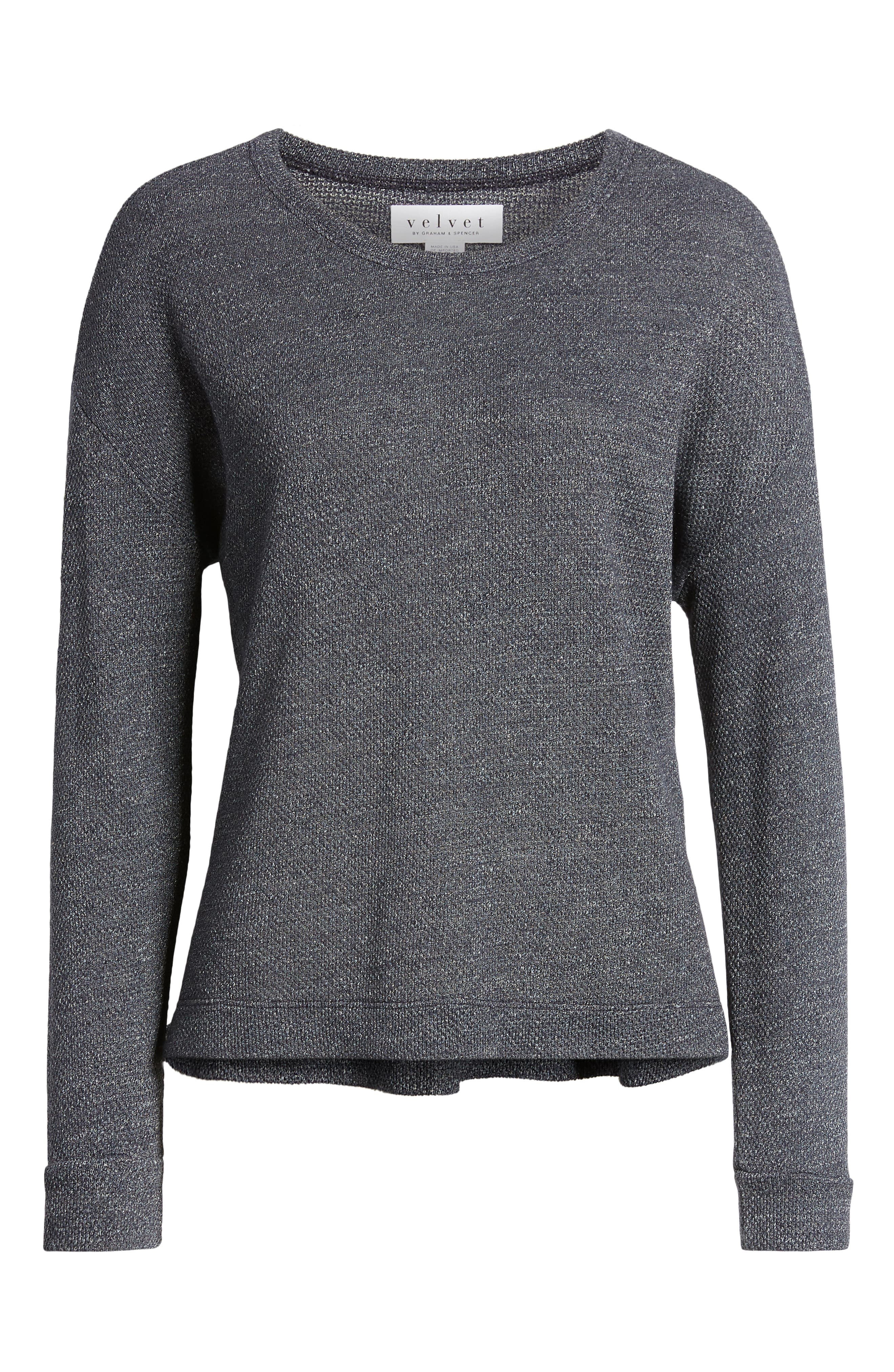 Thermal Pullover,                             Alternate thumbnail 6, color,                             CADET