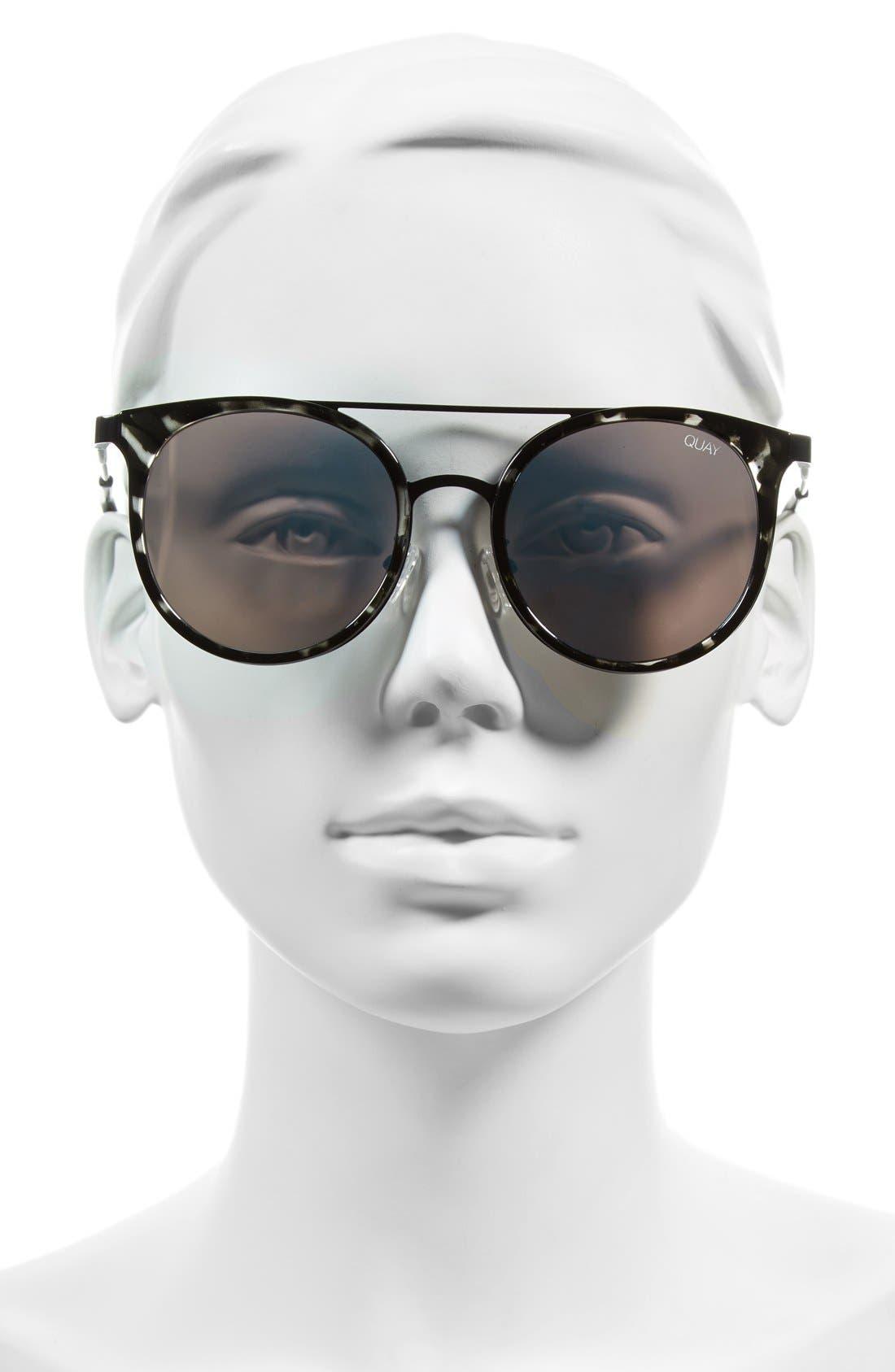 Kandy Gram 51mm Round Sunglasses,                             Alternate thumbnail 4, color,