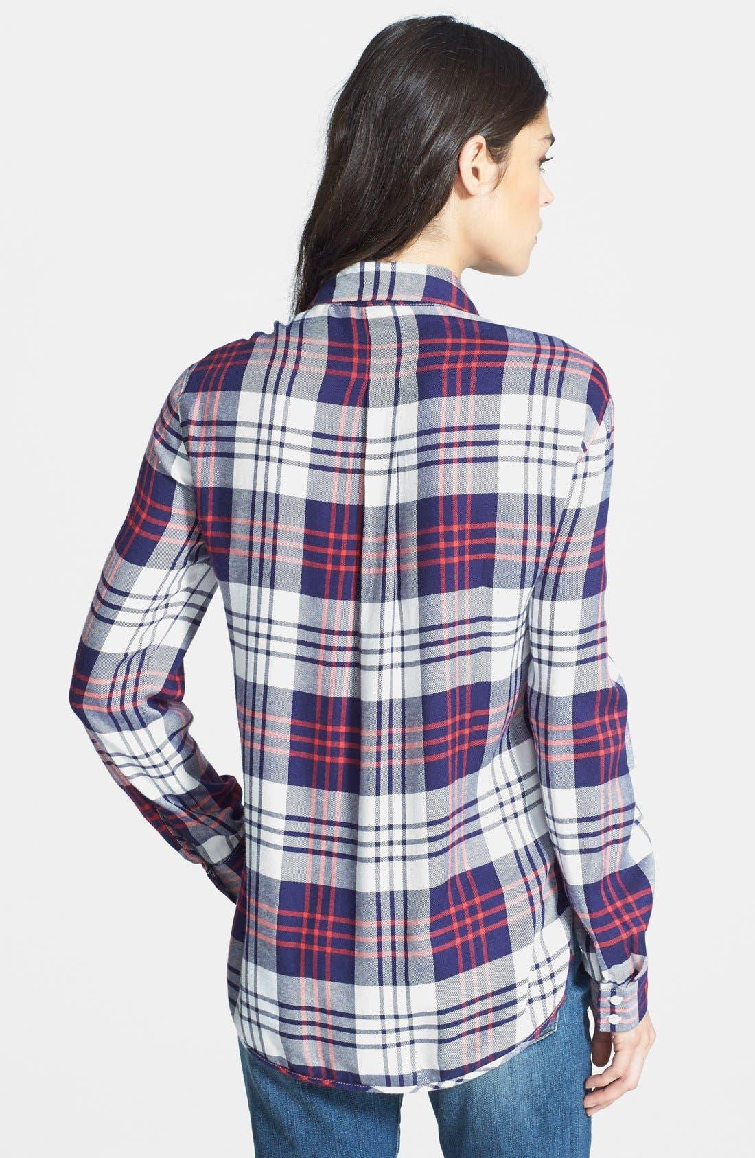 Plaid Shirt,                             Alternate thumbnail 3, color,                             400