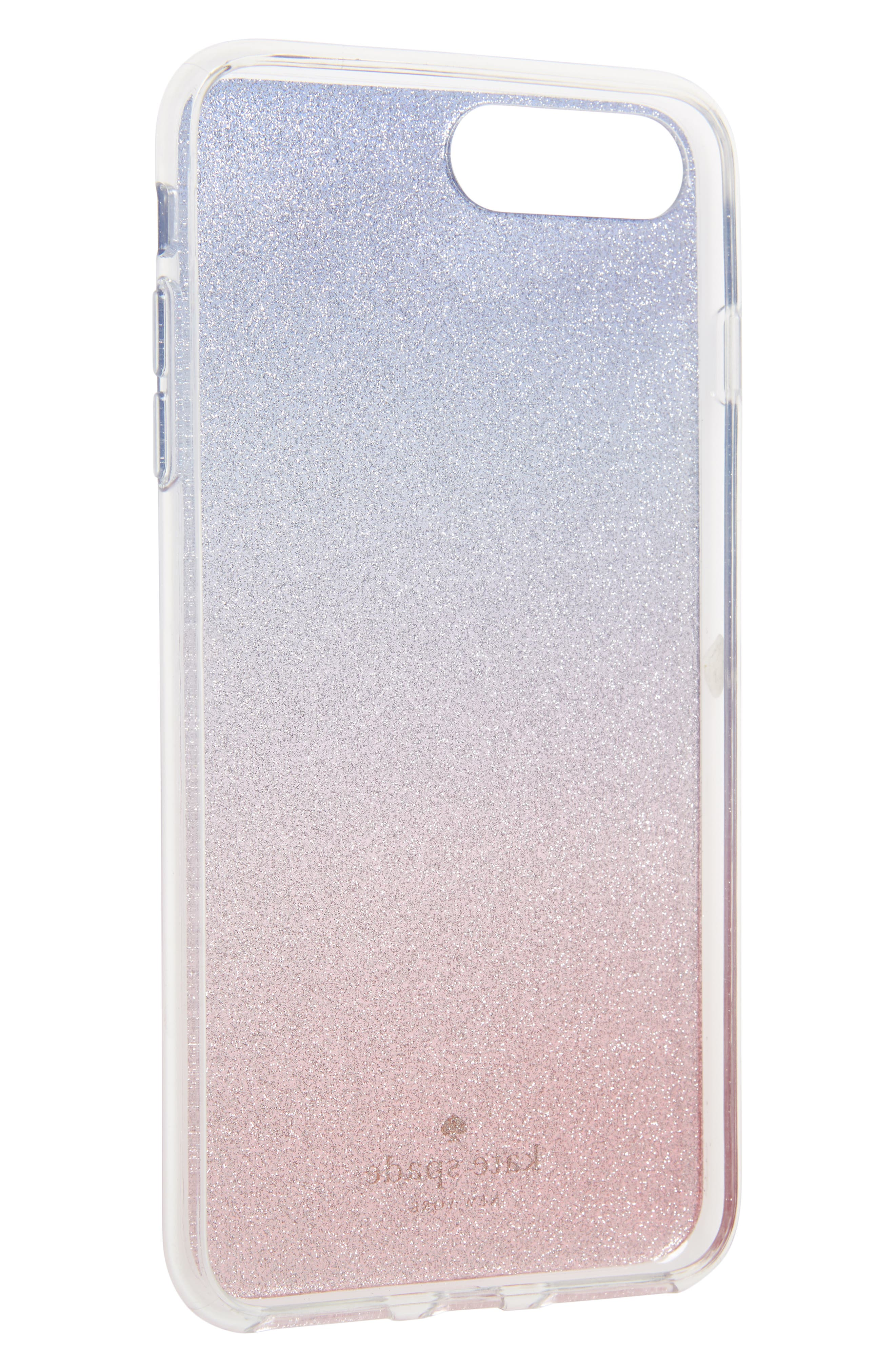 KATE SPADE NEW YORK,                             ombré sunset glitter iPhone 7/8 & 7/8 Plus case,                             Alternate thumbnail 2, color,                             655