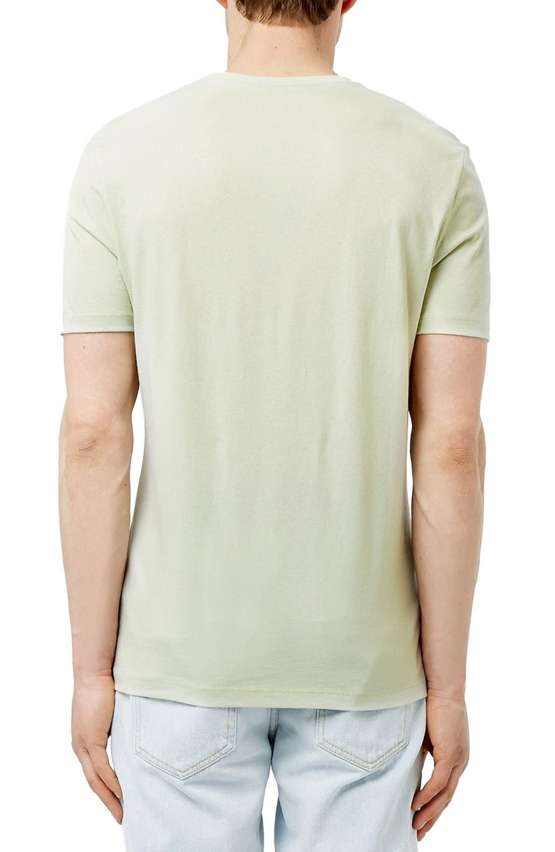 Slim Fit Crewneck T-Shirt,                             Alternate thumbnail 405, color,