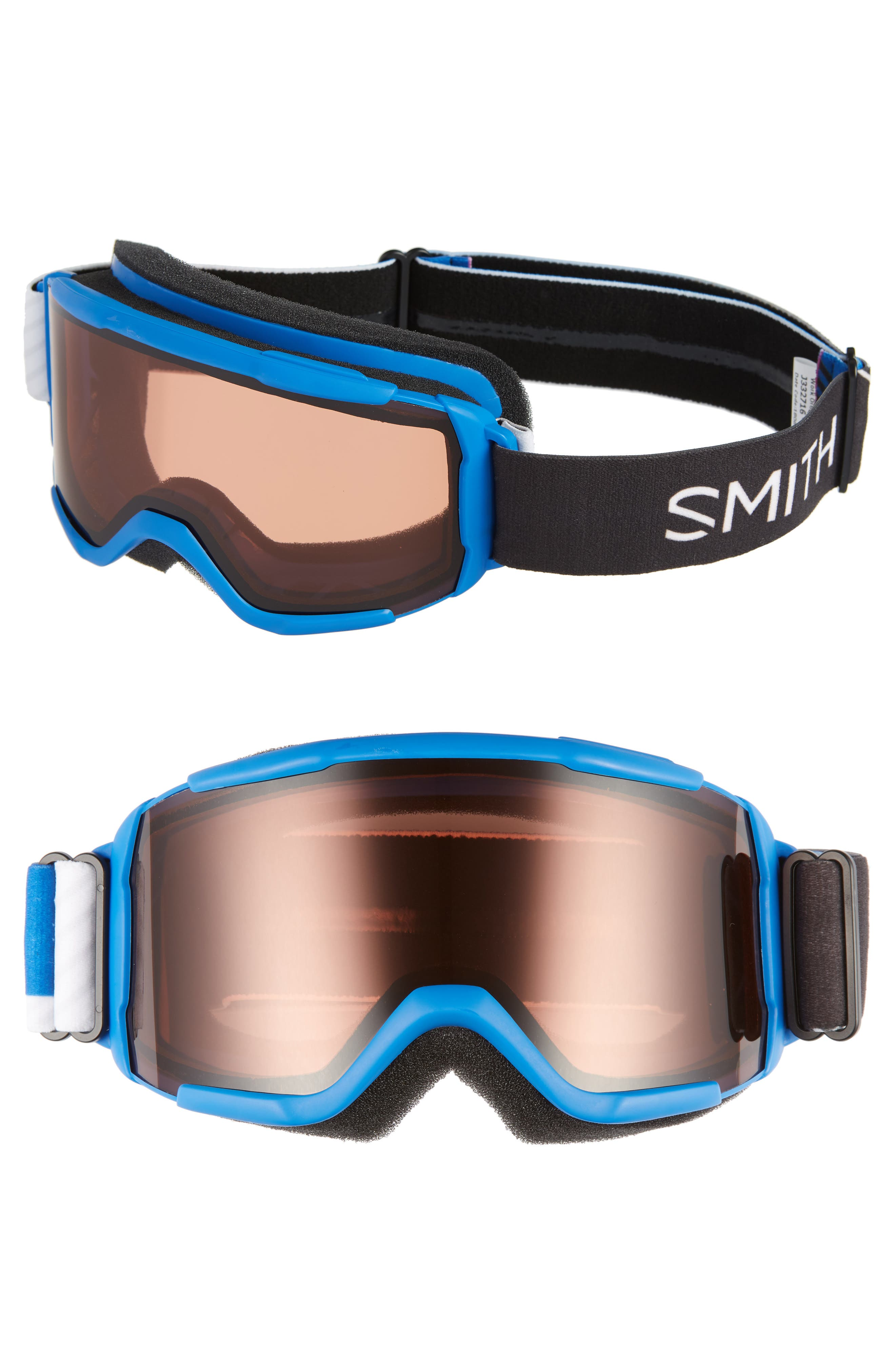 Daredevil 170mm Snow Goggles,                             Main thumbnail 1, color,                             BLUE STRIKE