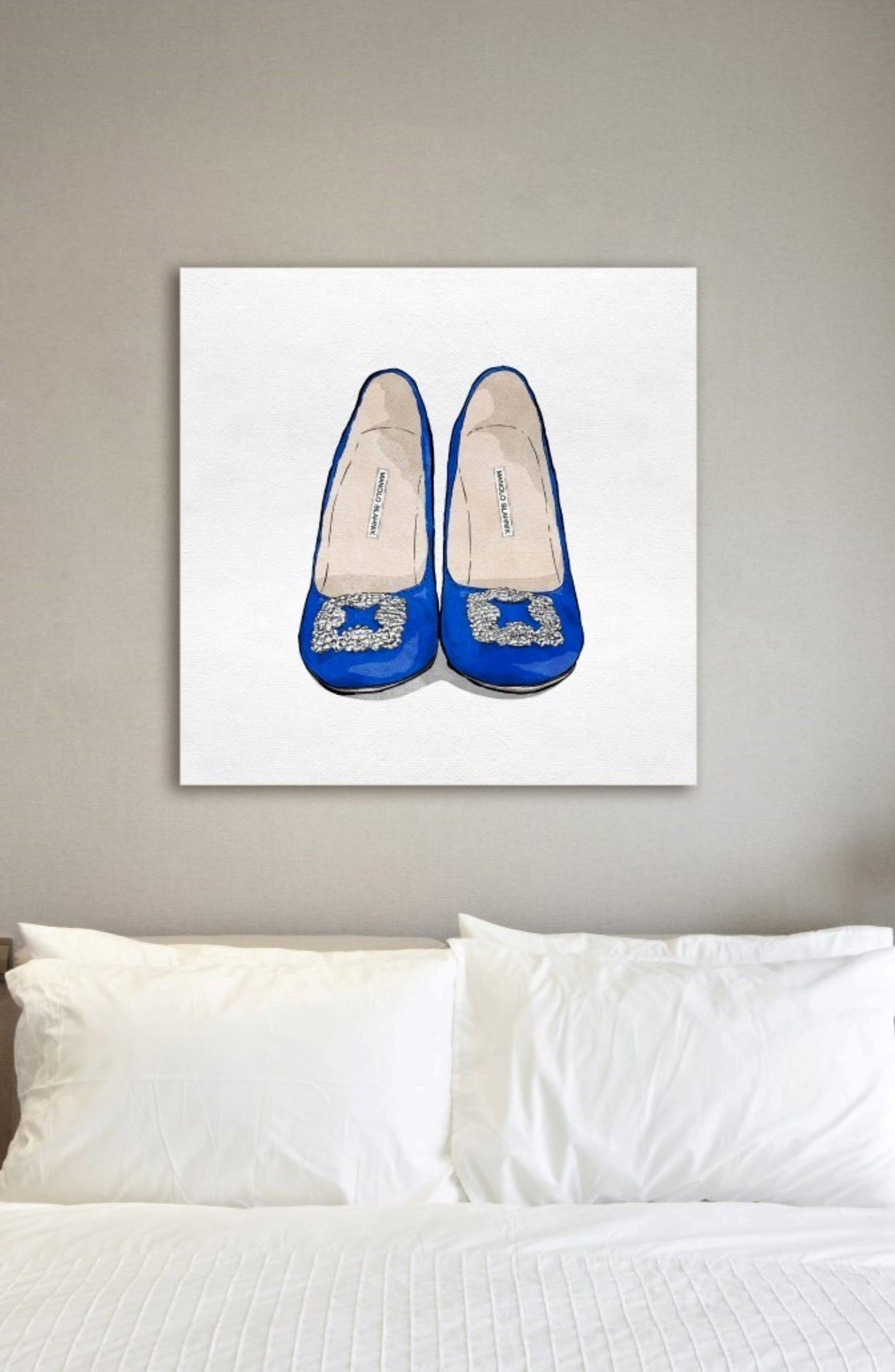 The Perfect Blue Pair Canvas Wall Art,                             Alternate thumbnail 2, color,                             400
