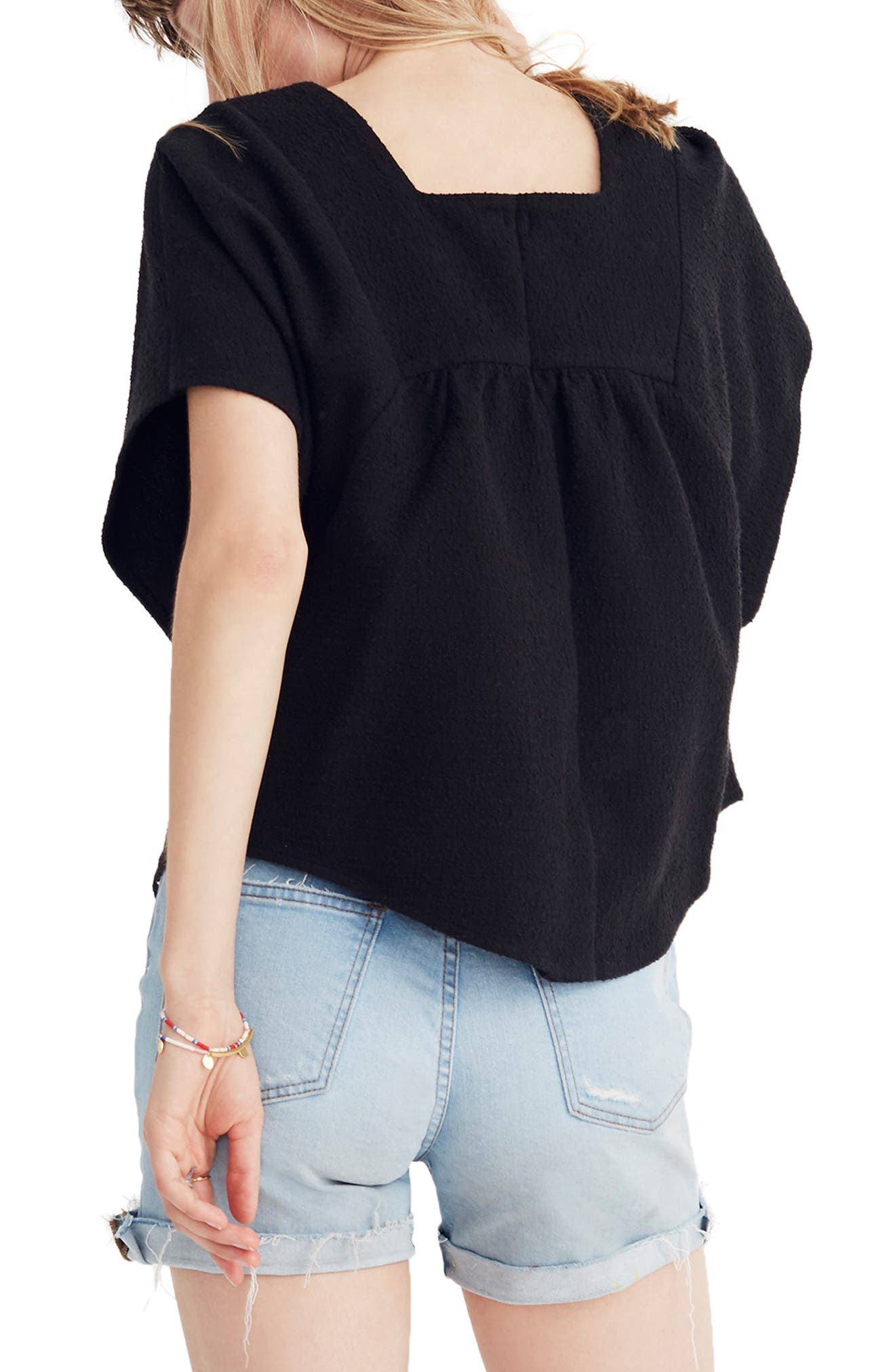 Solid Butterfly Top,                             Alternate thumbnail 2, color,