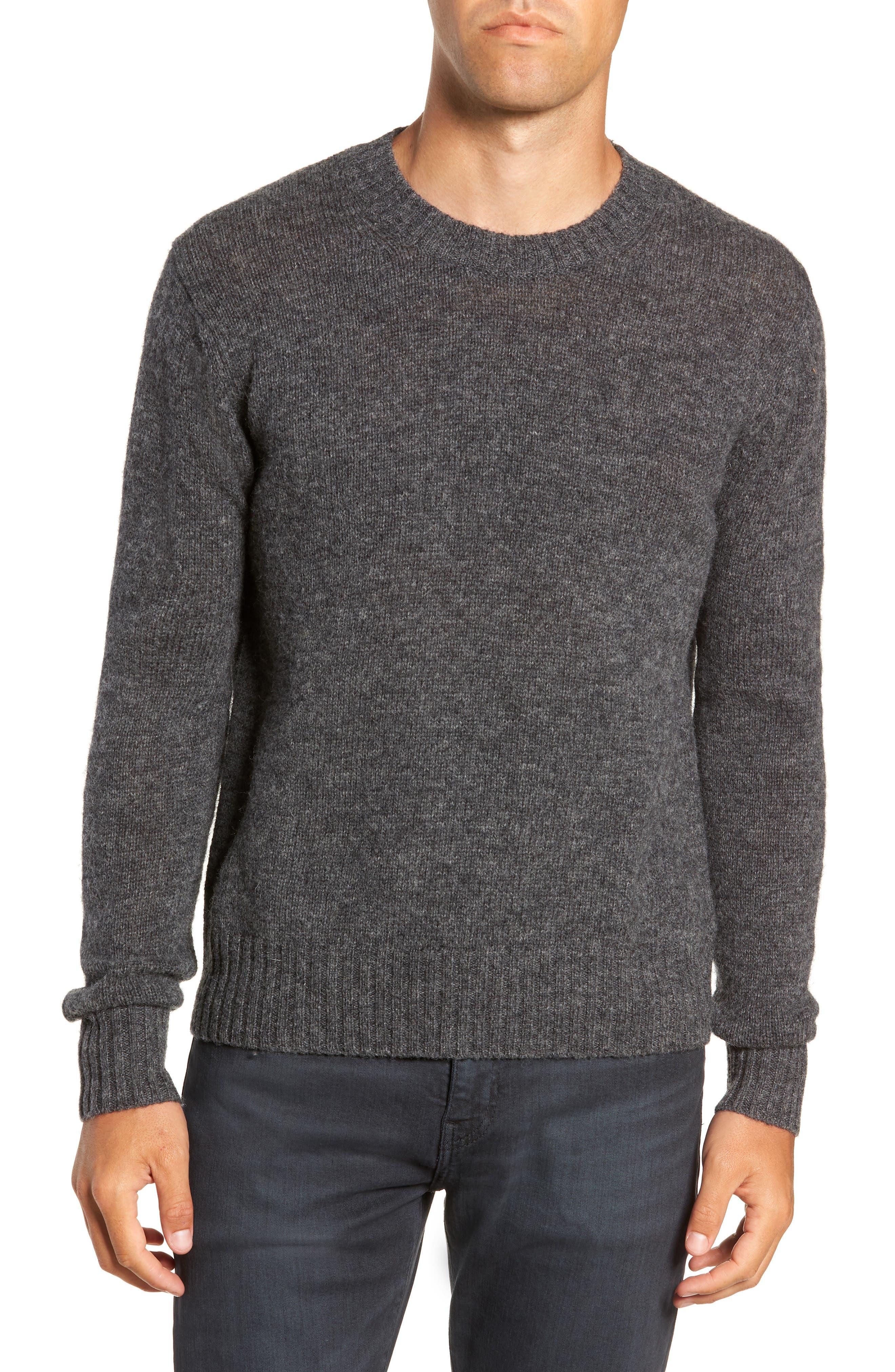 Frye Aiden Shetland Crewneck Sweater