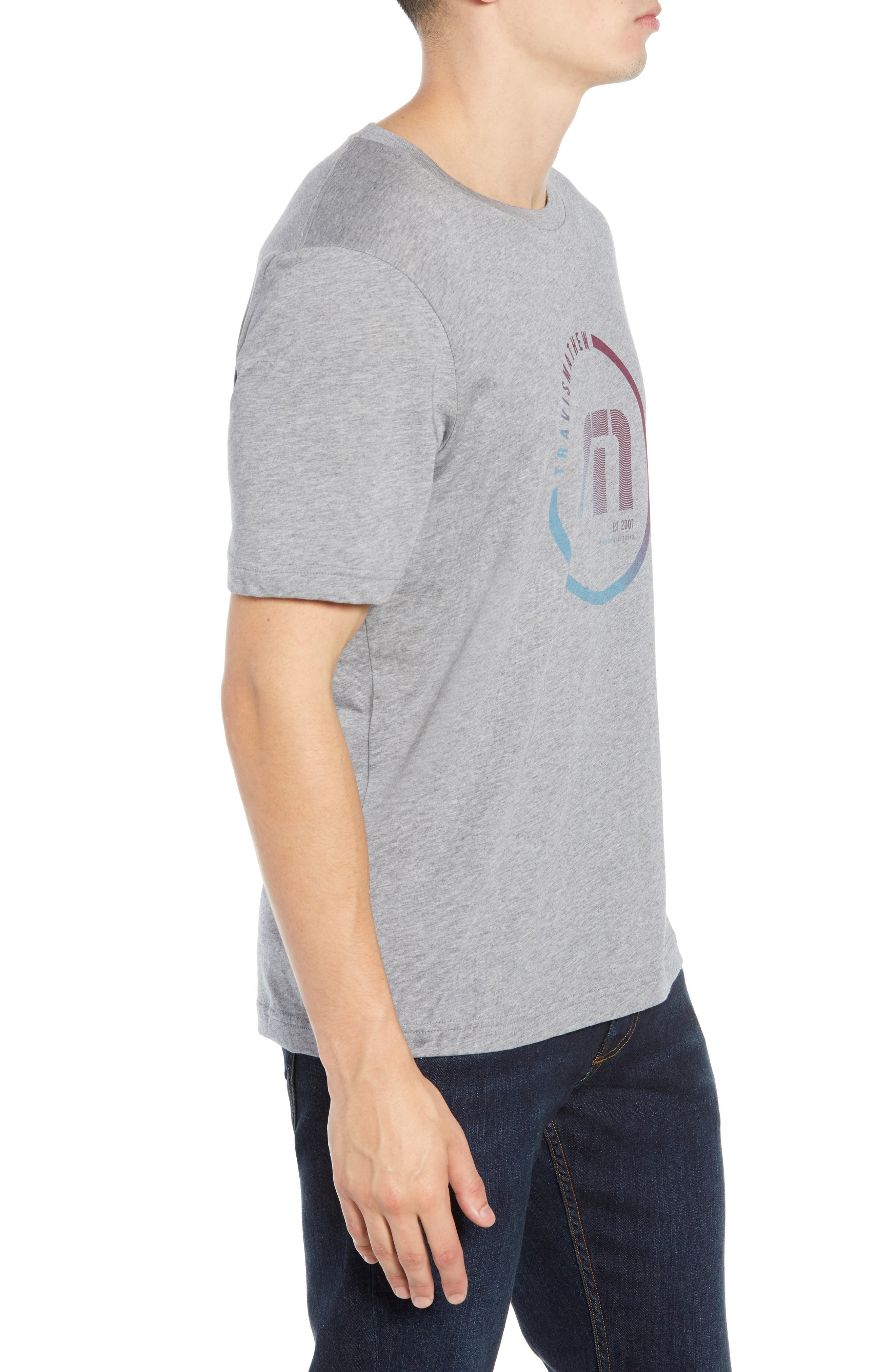 Airheads T-Shirt,                             Alternate thumbnail 3, color,                             HEATHER GREY