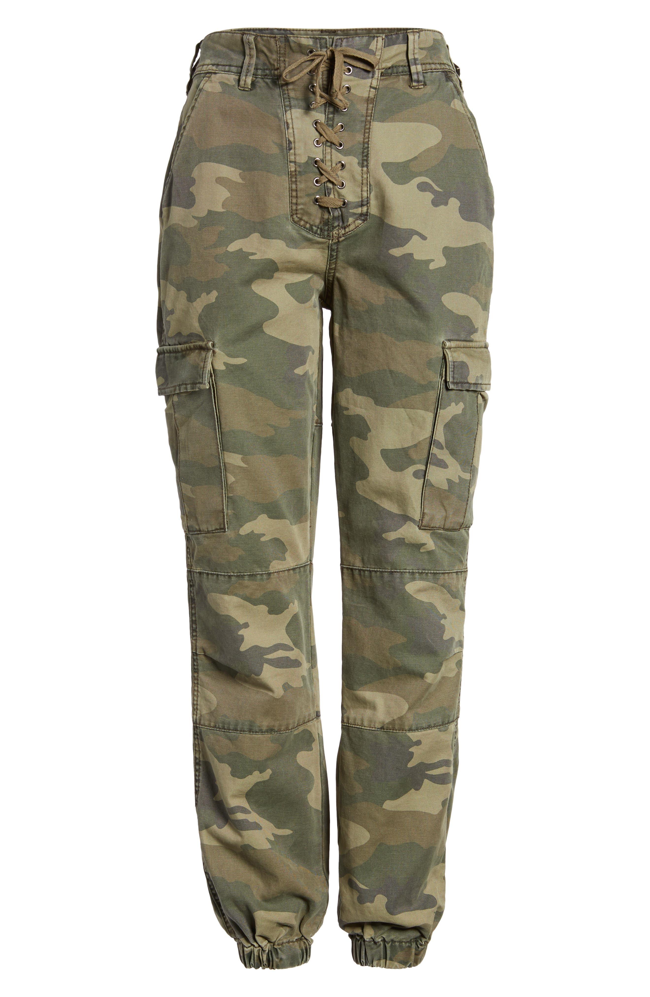 Sullivan Army Cargo Jogger Pants,                             Alternate thumbnail 6, color,                             300