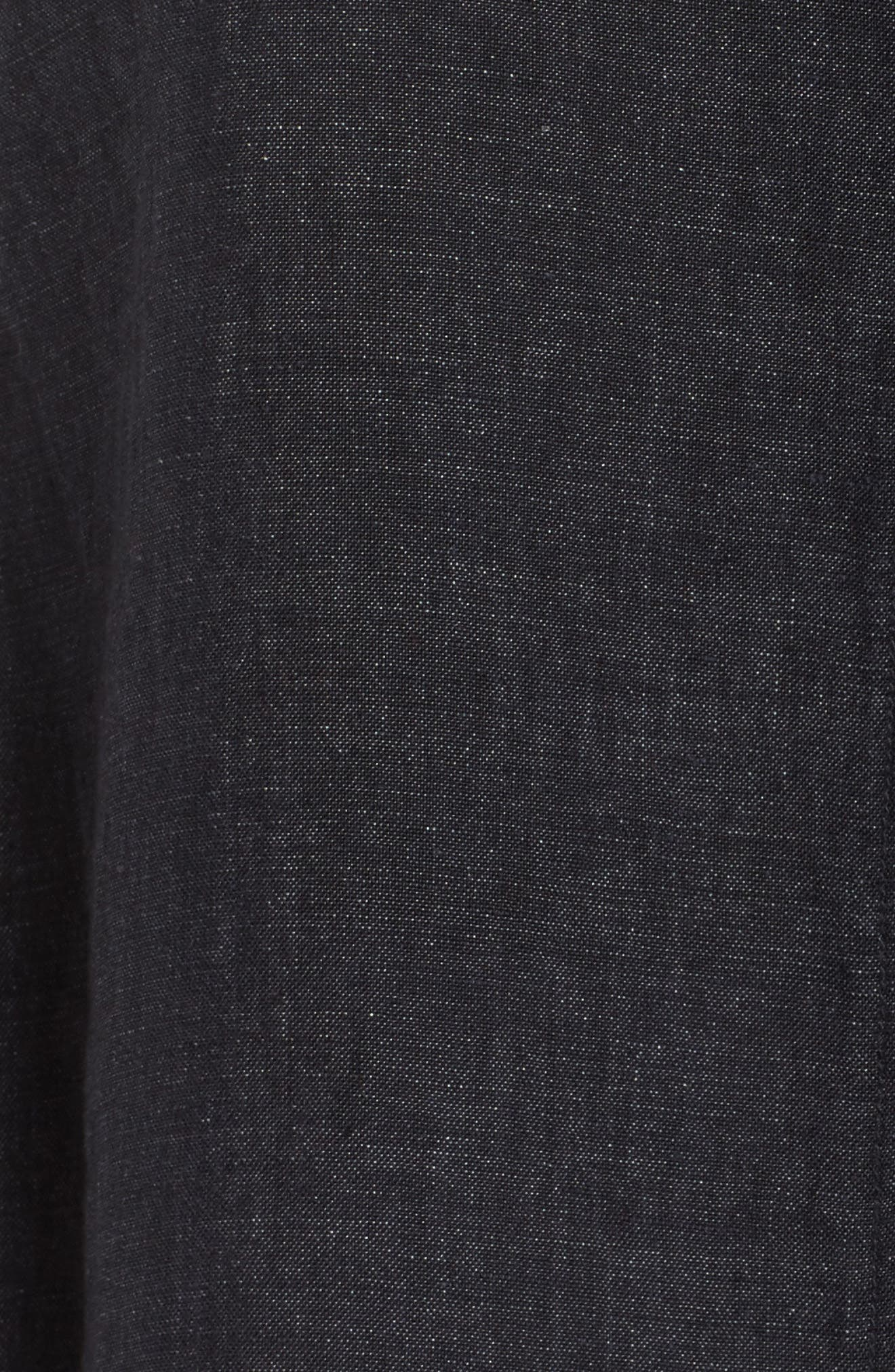 Organic Linen Flutter Top,                             Alternate thumbnail 6, color,                             480